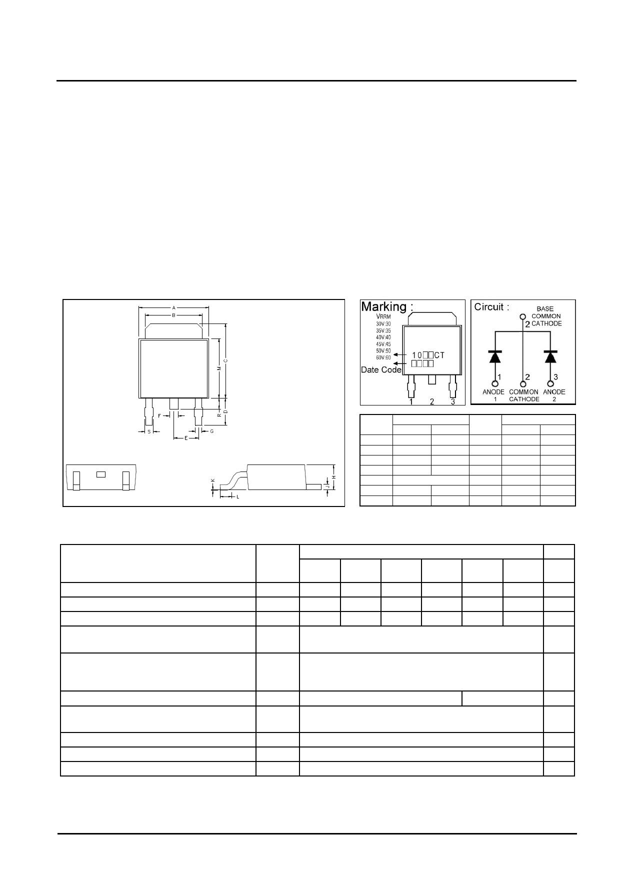 GJSBL1040CT دیتاشیت PDF