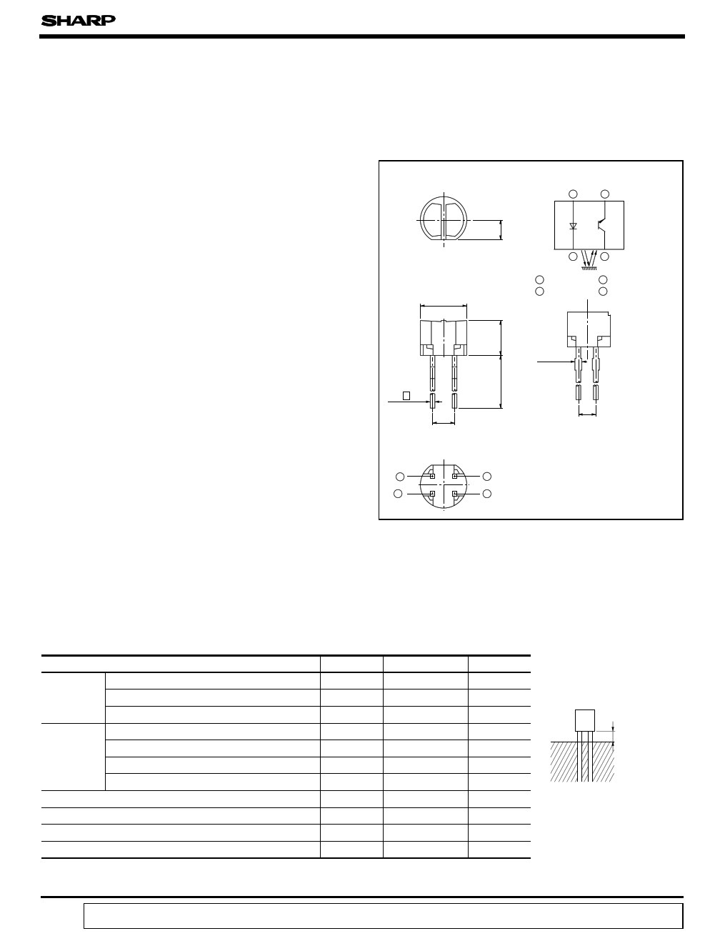 GP2S22 دیتاشیت PDF