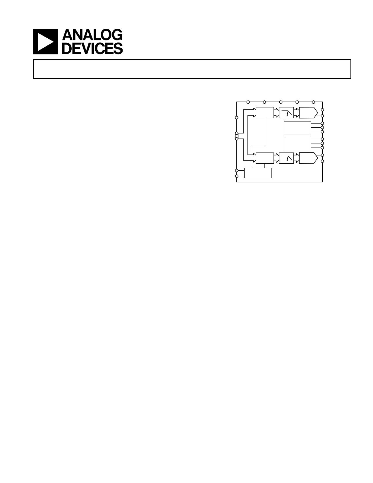 AD9761 دیتاشیت PDF