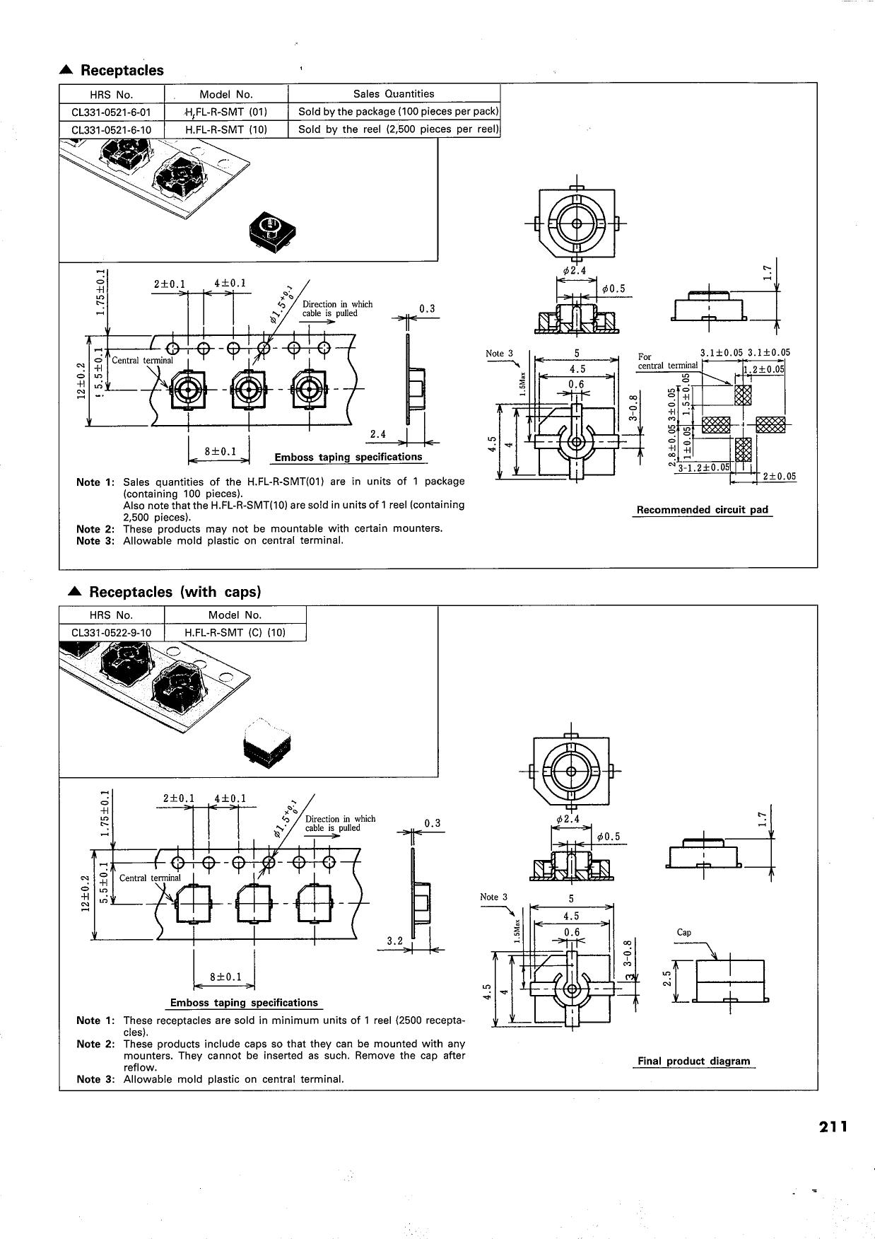 H.FL-1 Даташит, Описание, Даташиты