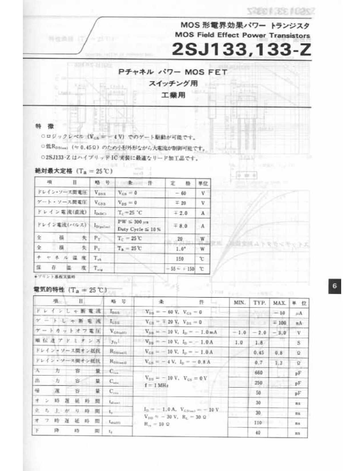 J133-Z دیتاشیت PDF
