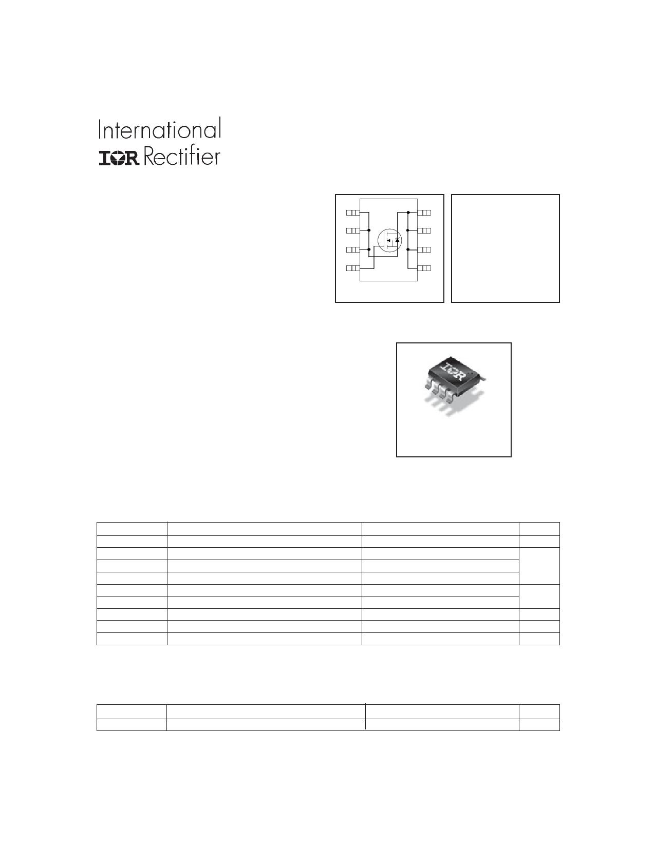 IRF7607PBF دیتاشیت PDF