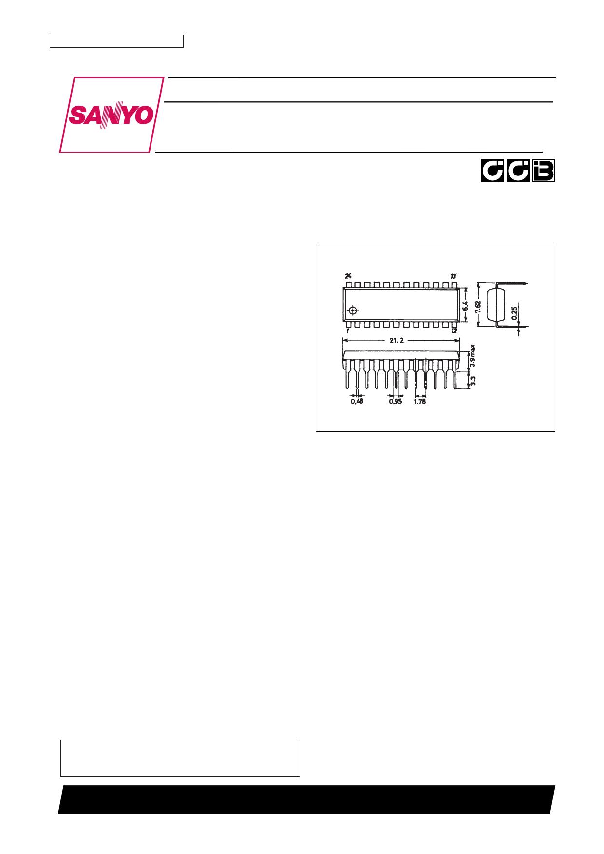 LC72191 Datasheet, LC72191 PDF,ピン配置, 機能