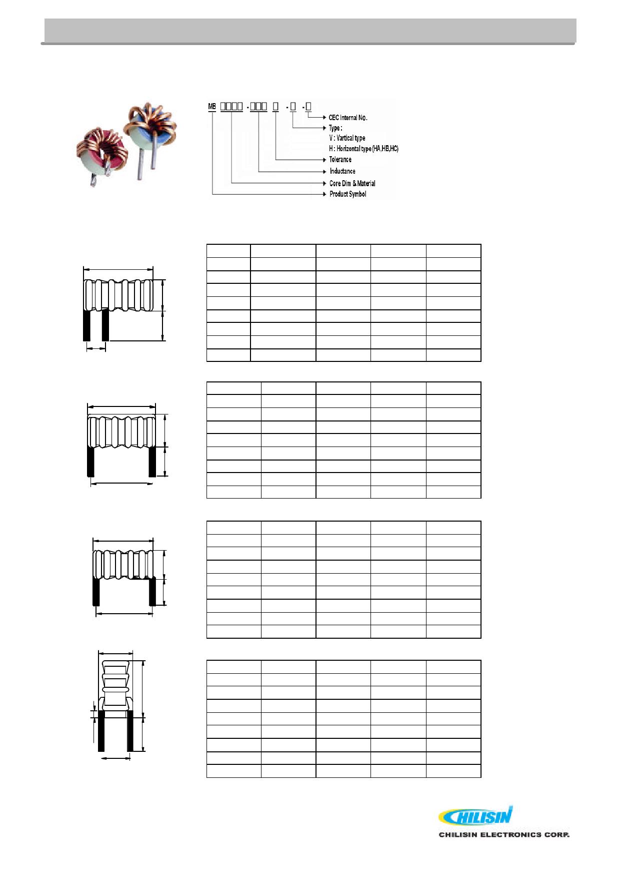 MB5052B 데이터시트 및 MB5052B PDF