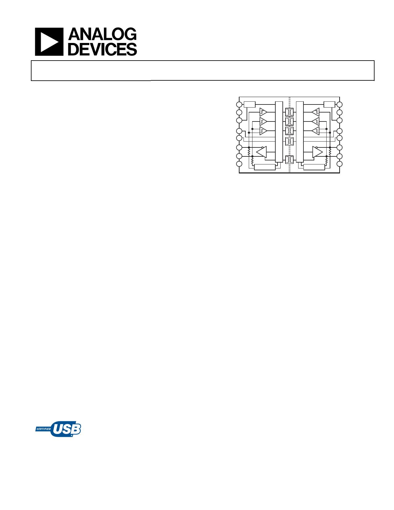 ADUM4160 دیتاشیت PDF