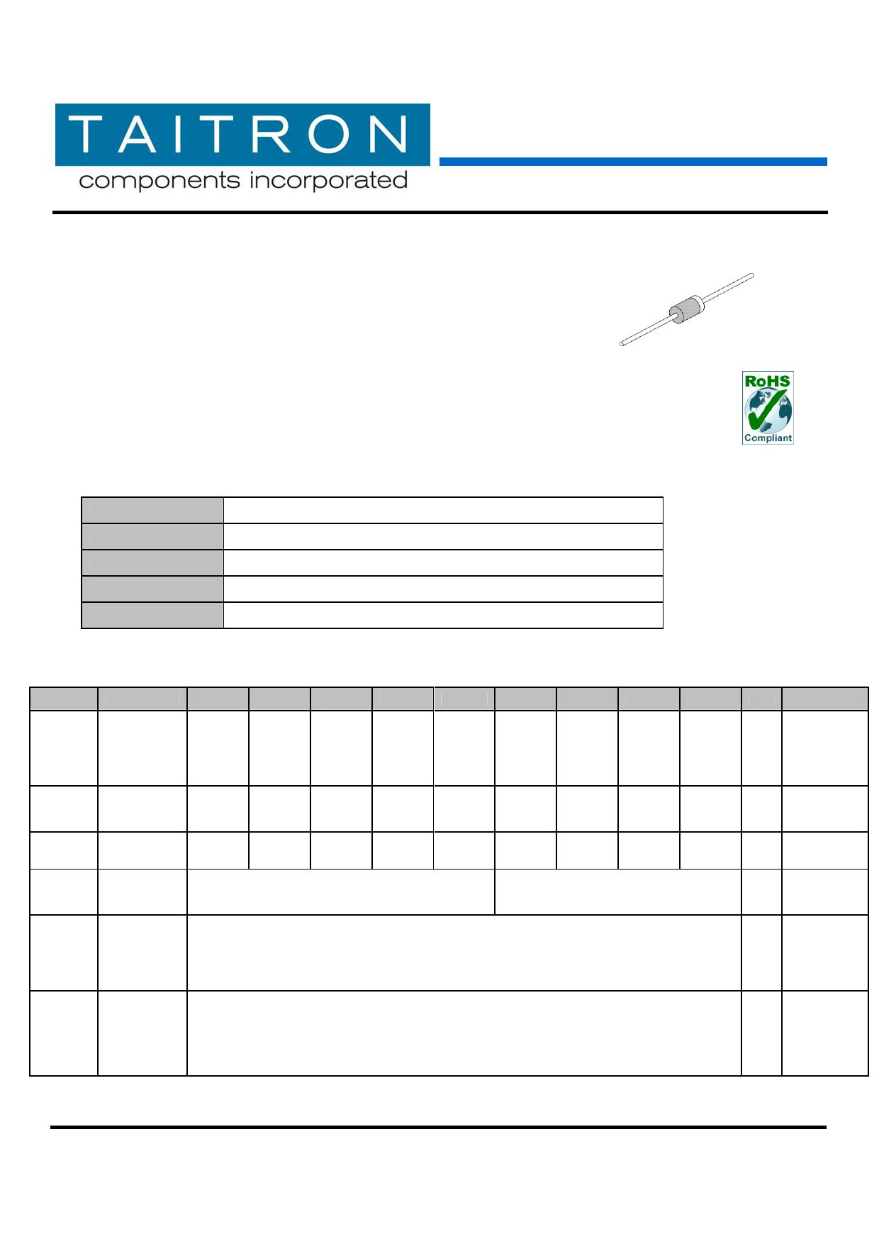 UF5403 datasheet