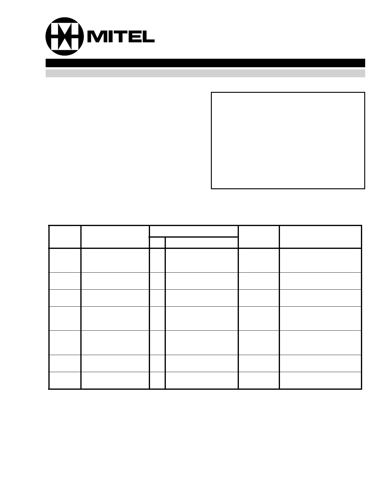 MB6017 데이터시트 및 MB6017 PDF