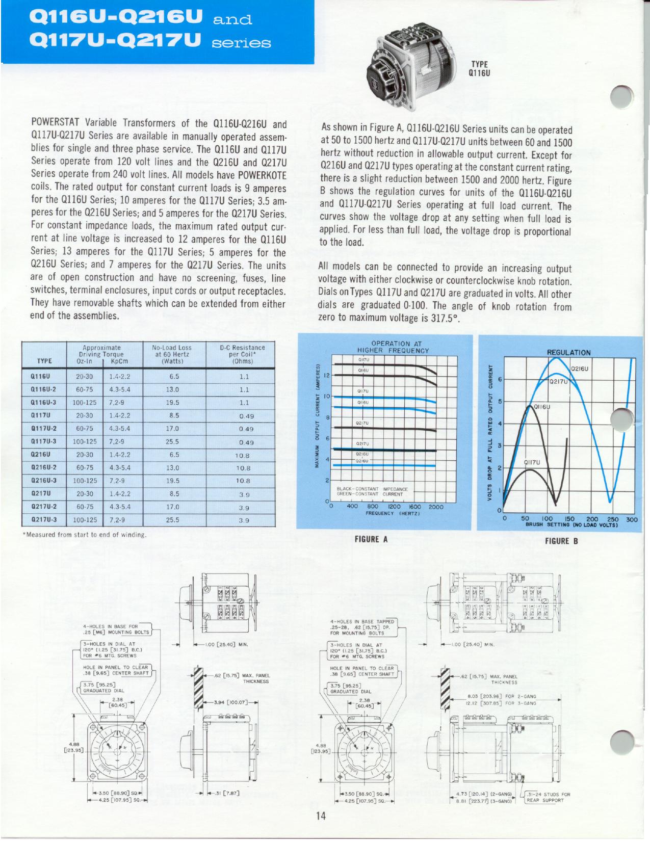 Q116U datasheet