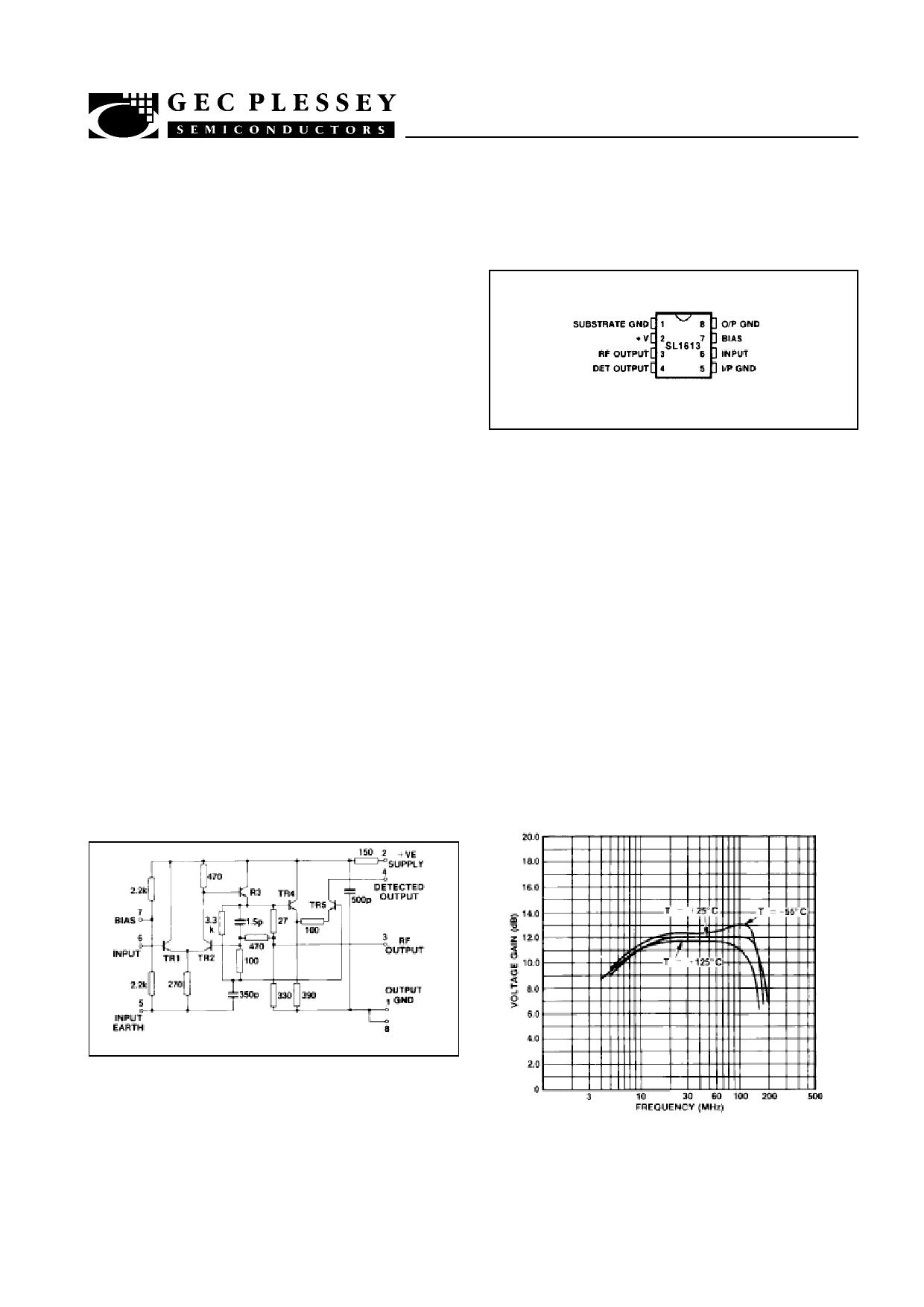 SL1613 datasheet