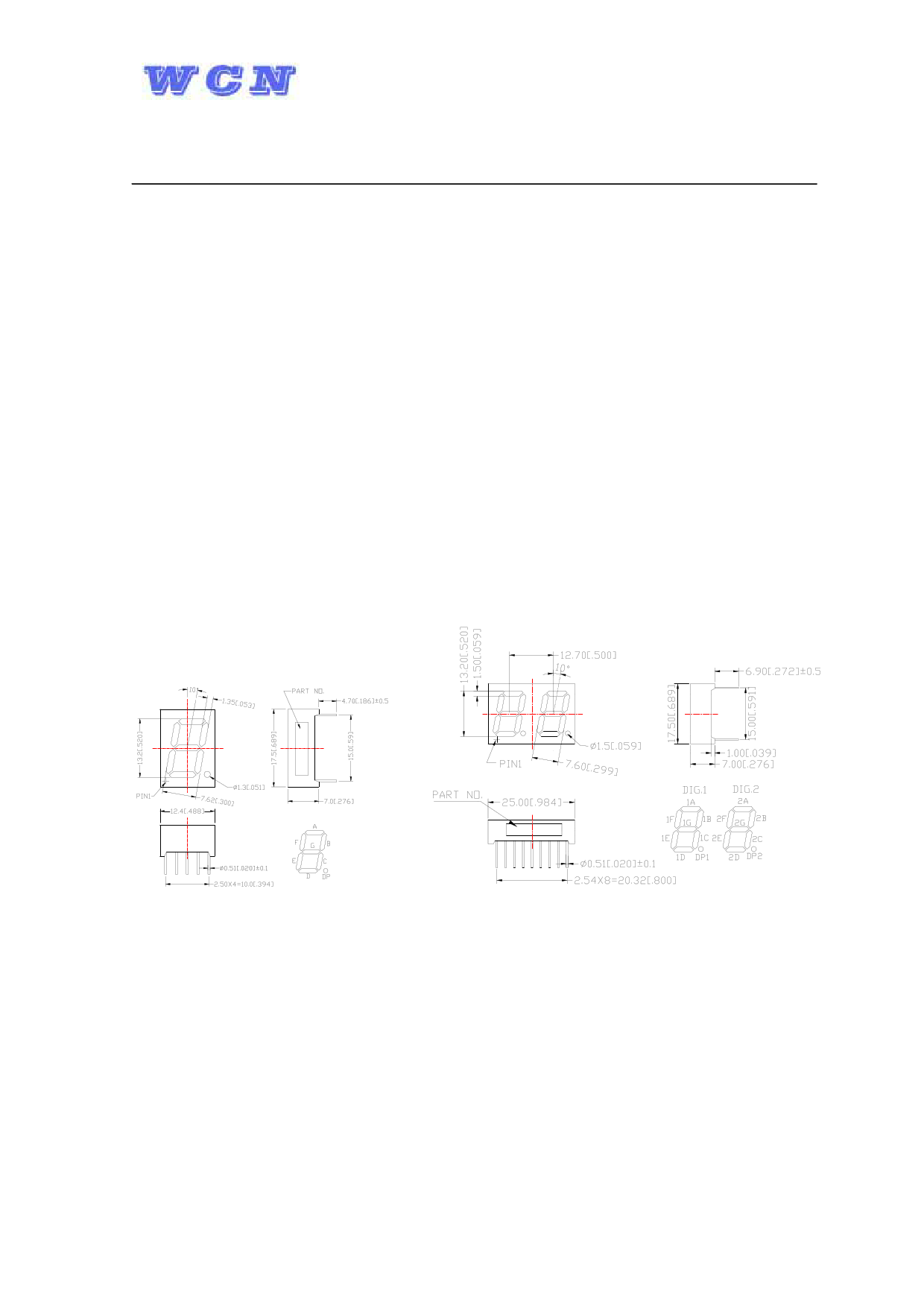 WCN4-0052SR-C11 datasheet