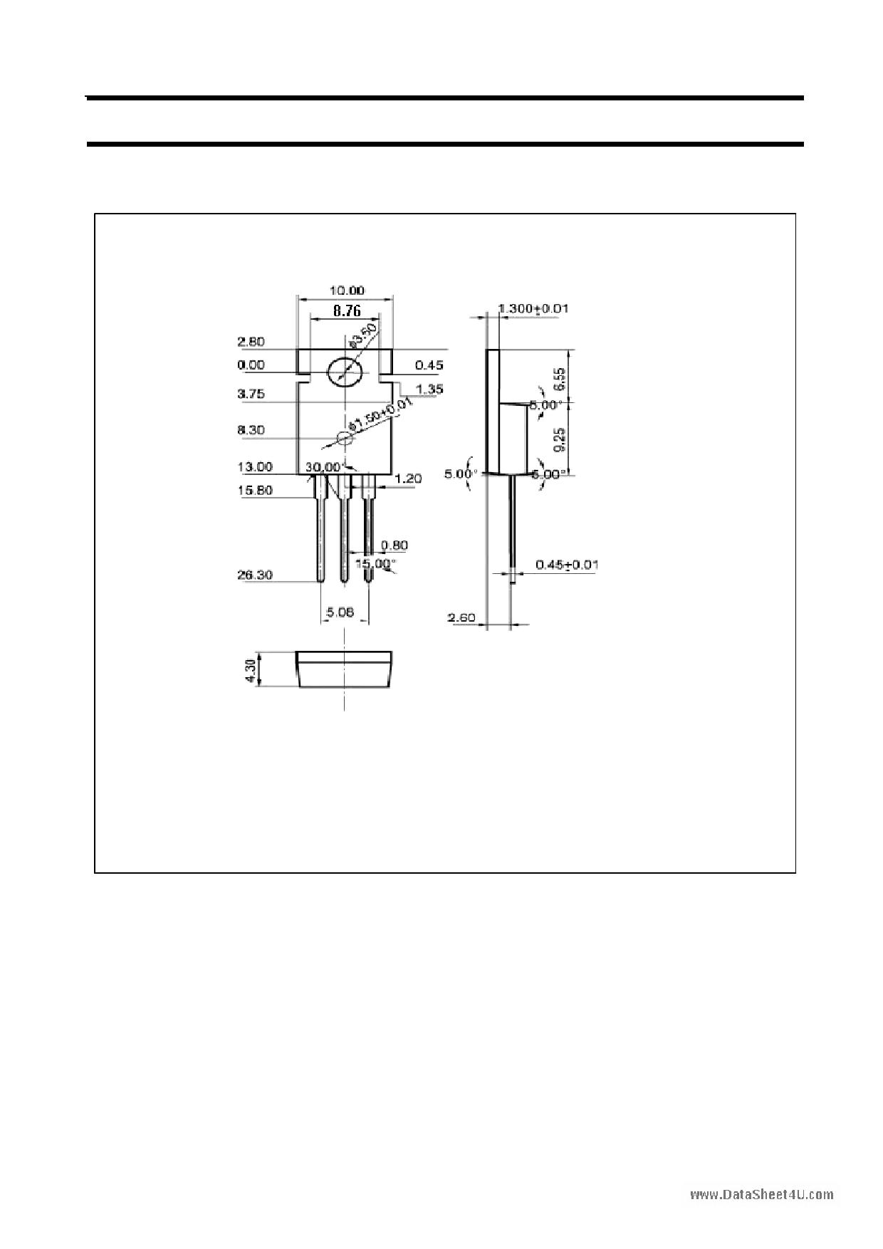 C3055 pdf, ピン配列