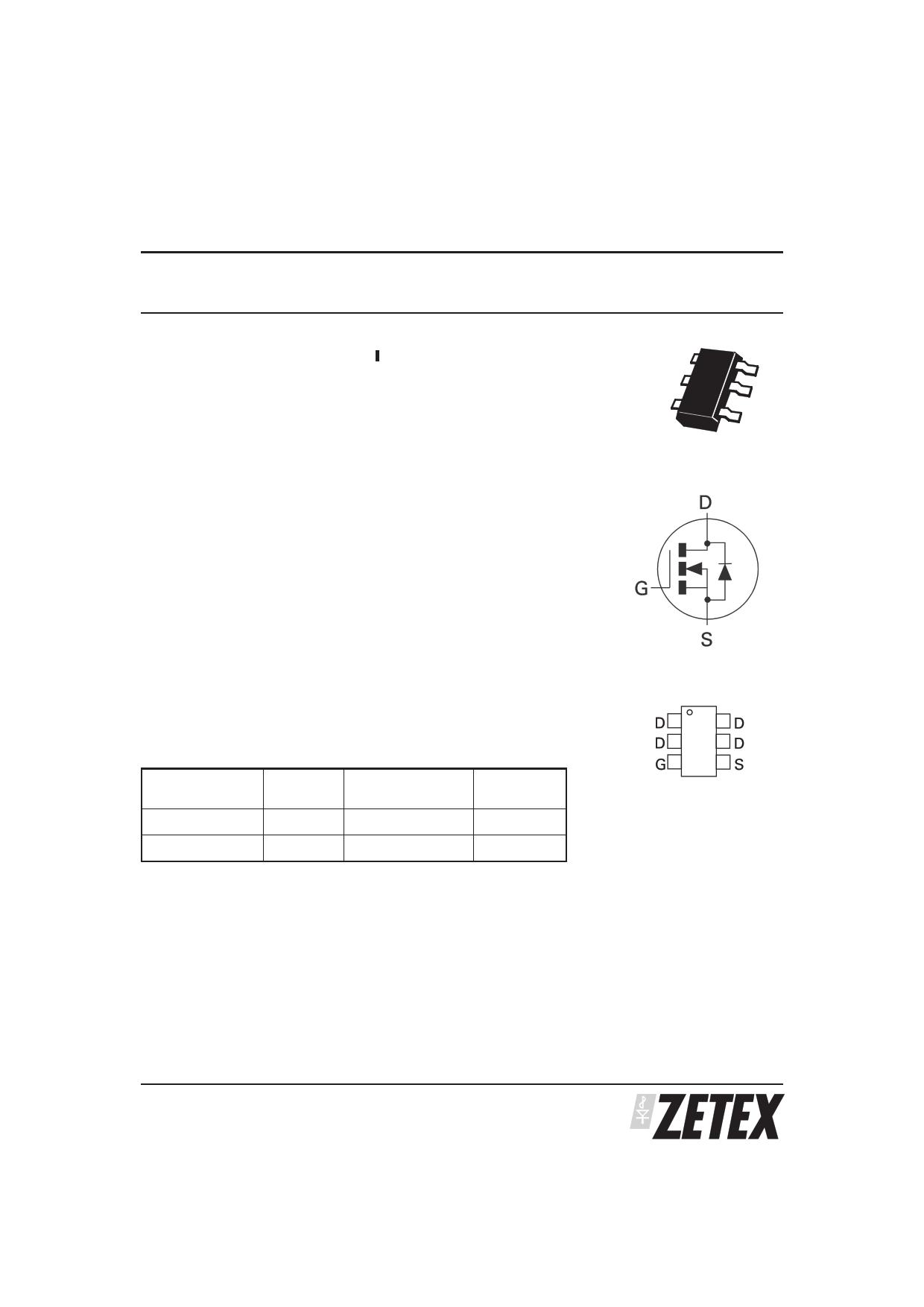 ZXMN2A03E6 دیتاشیت PDF