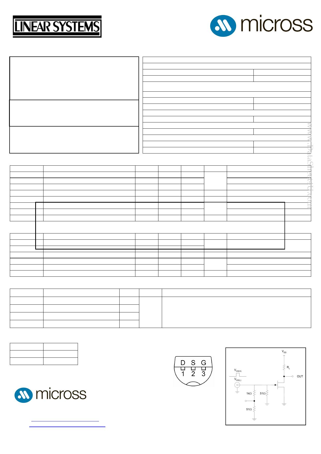 J110 دیتاشیت PDF