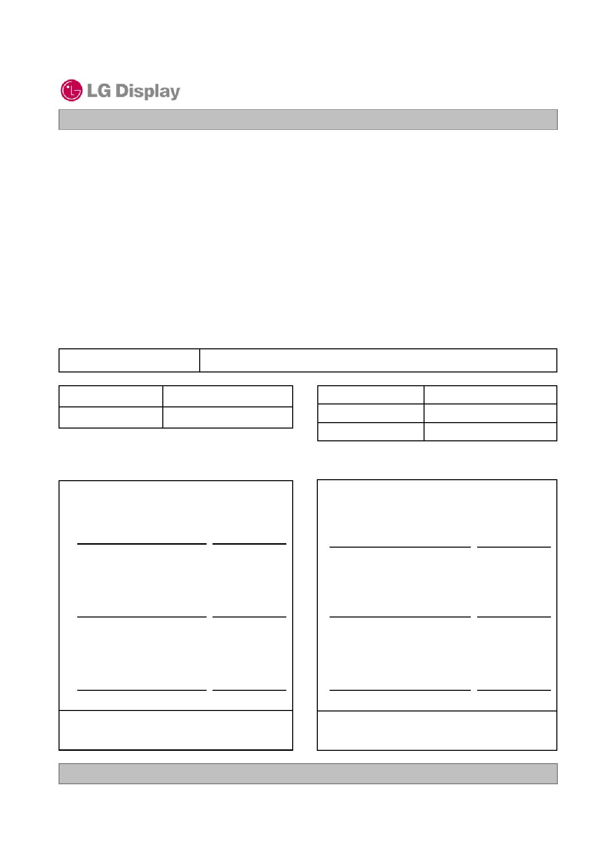 LD470WUB-SCA1 دیتاشیت PDF