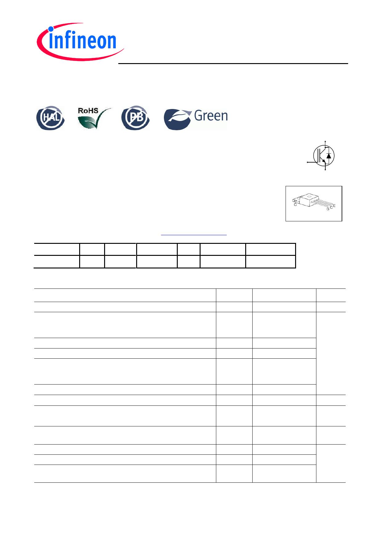 IKP06N60T Datasheet, IKP06N60T PDF,ピン配置, 機能