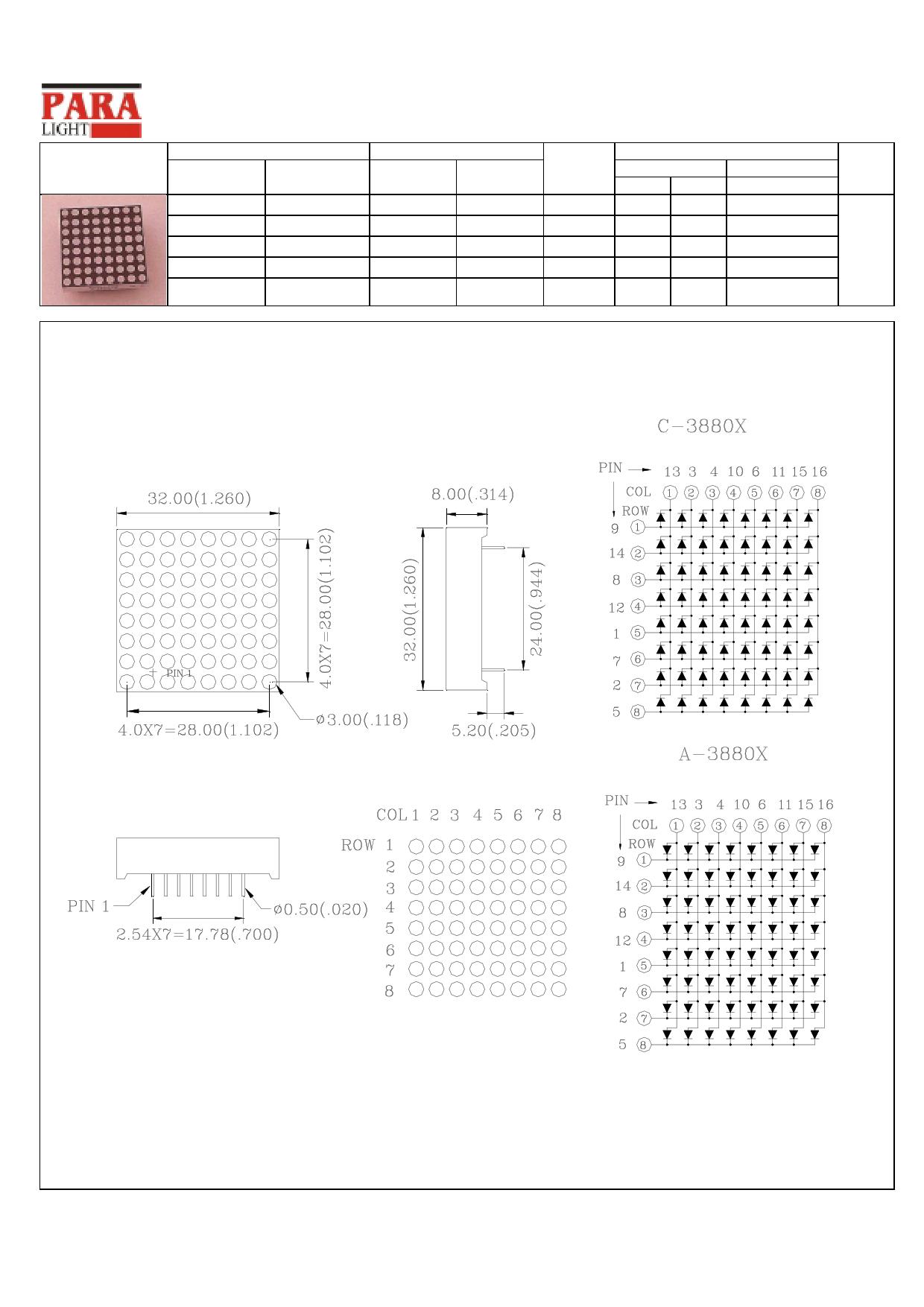 C-3880H دیتاشیت PDF