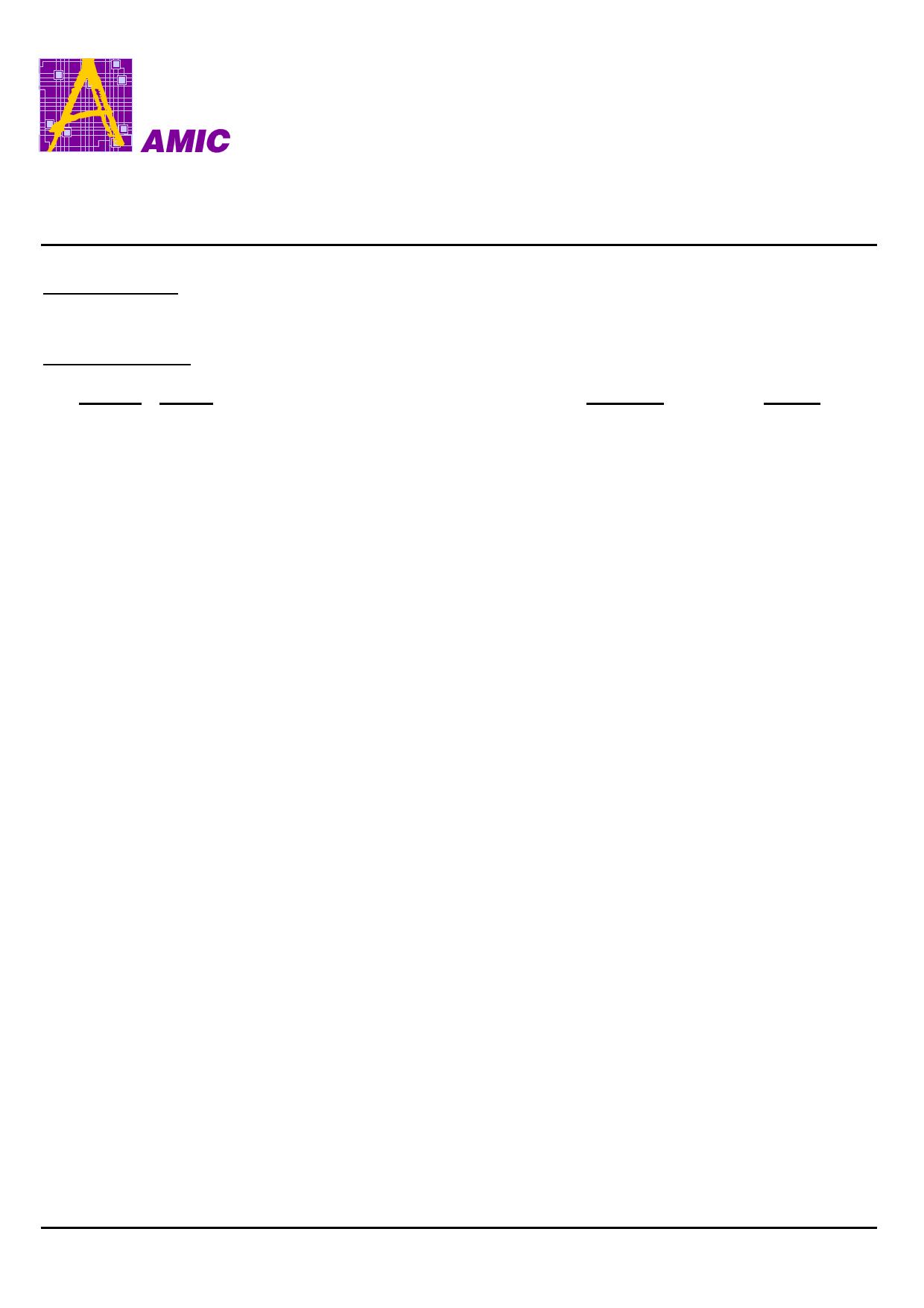 A25L05P datasheet, circuit