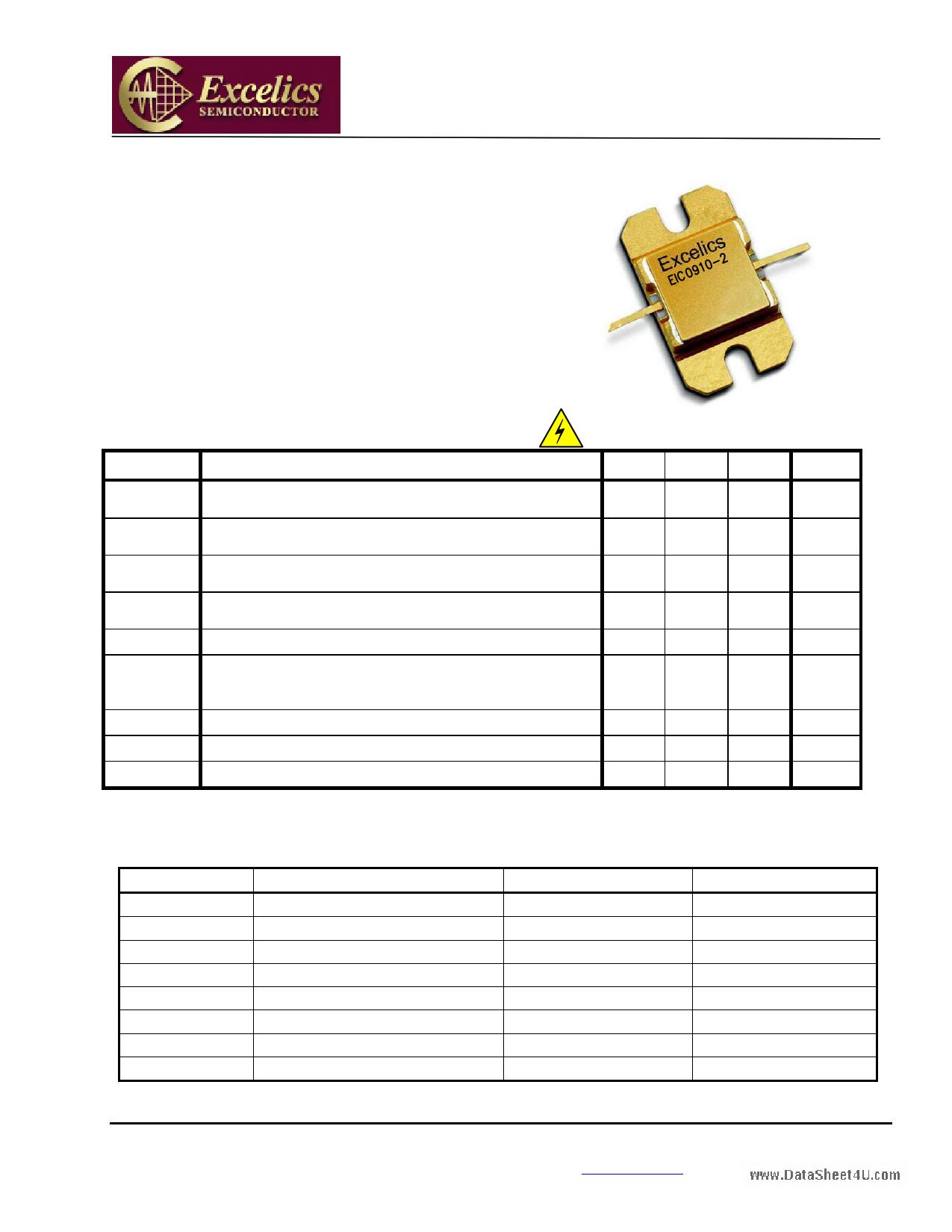 EIC0910-2 دیتاشیت PDF