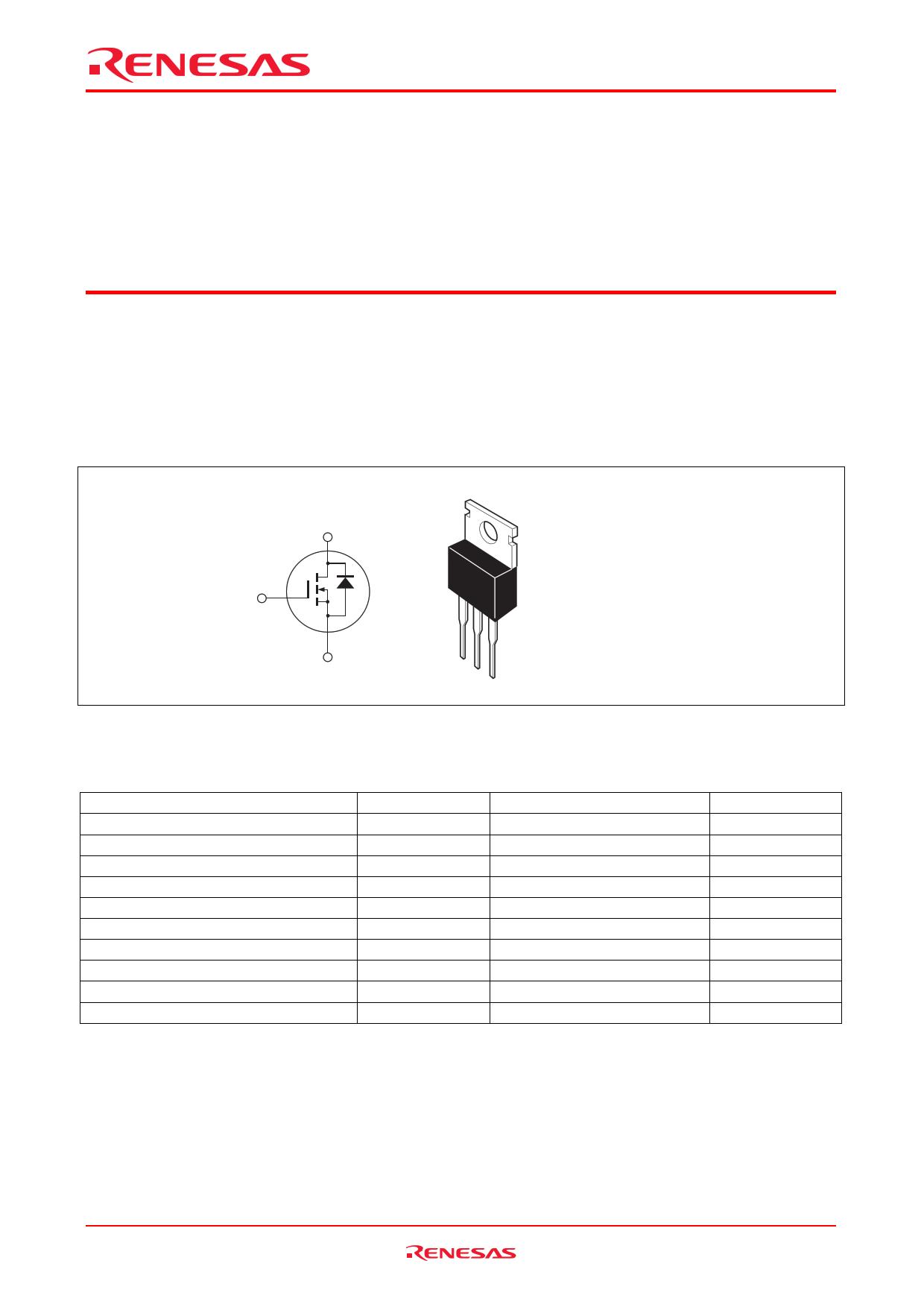 2SK3418 데이터시트 및 2SK3418 PDF
