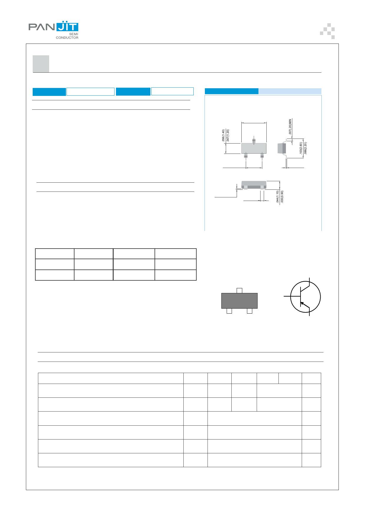 BC856A دیتاشیت PDF