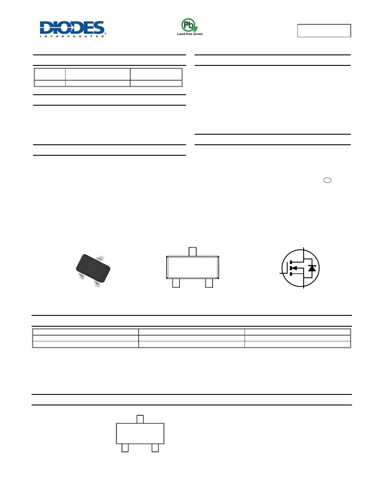 ZXMN3A01F دیتاشیت PDF
