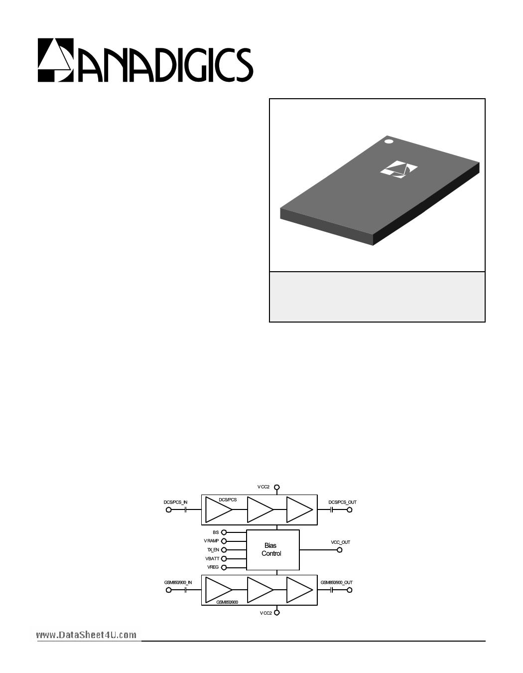 AWT6108 datasheet, circuit