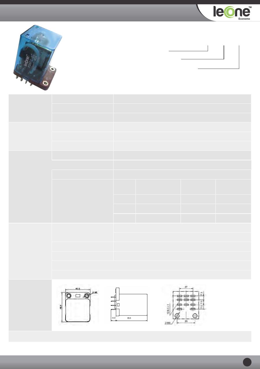 P38FC-3C-12VDC datasheet