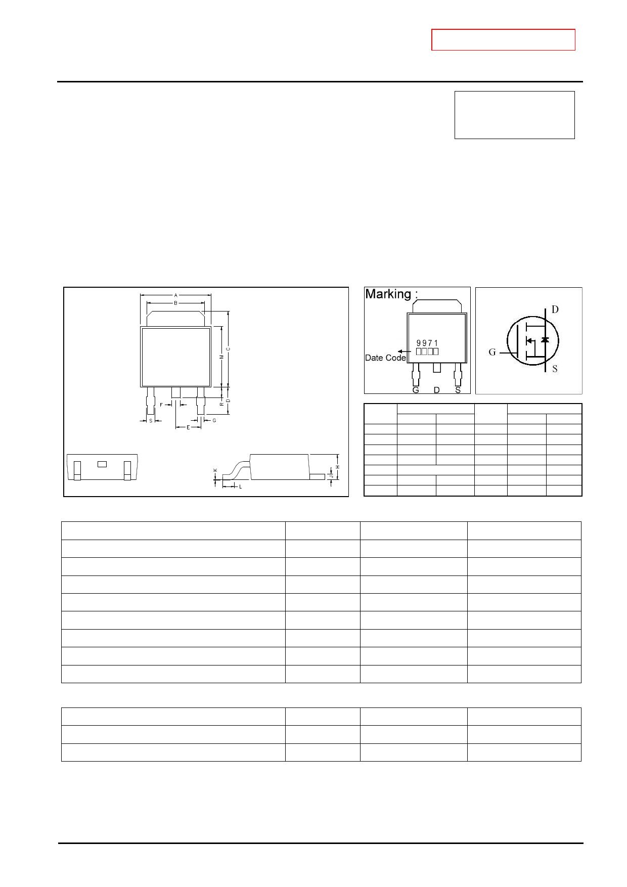 GJ9971 دیتاشیت PDF