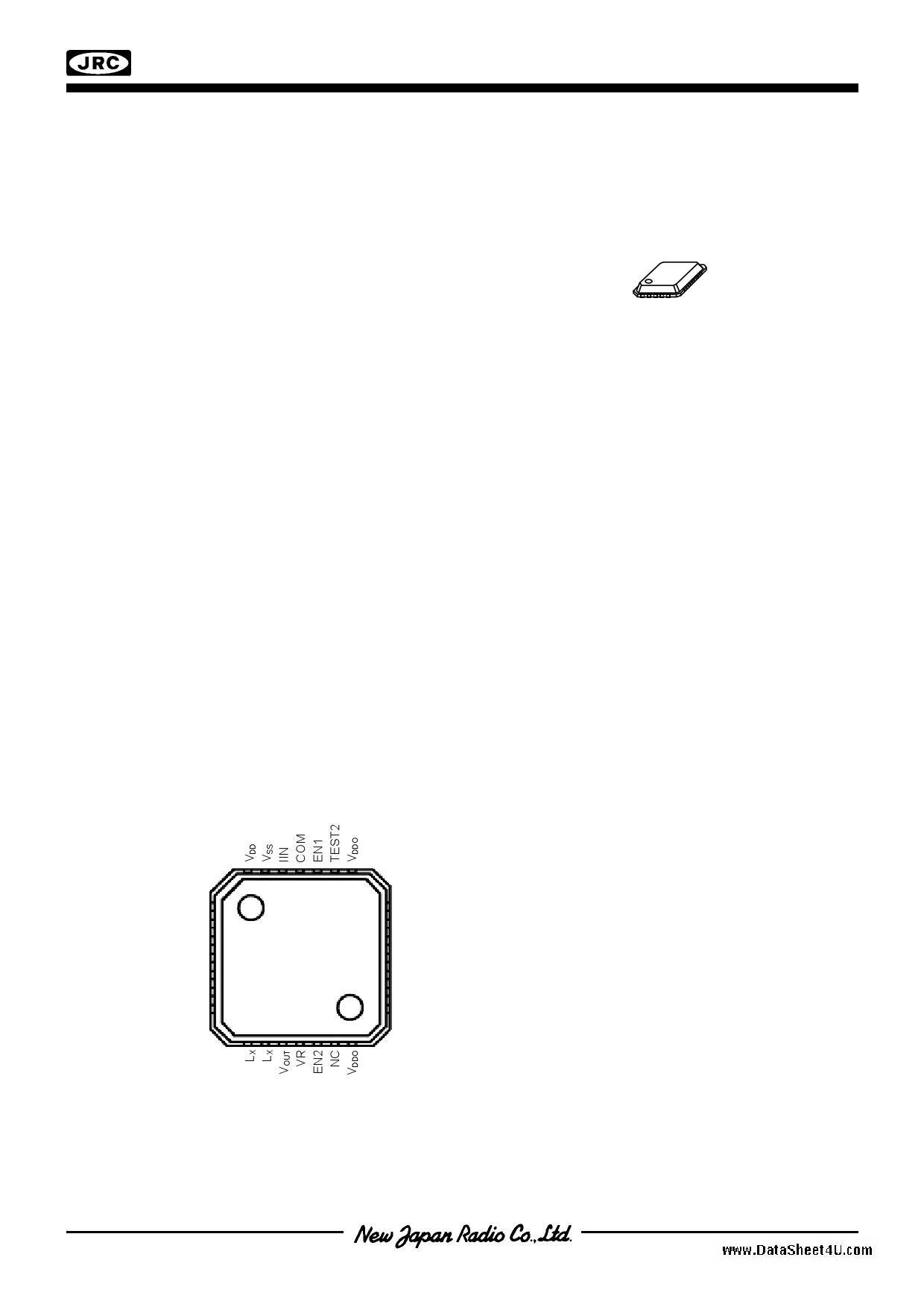 NJU8753 دیتاشیت PDF