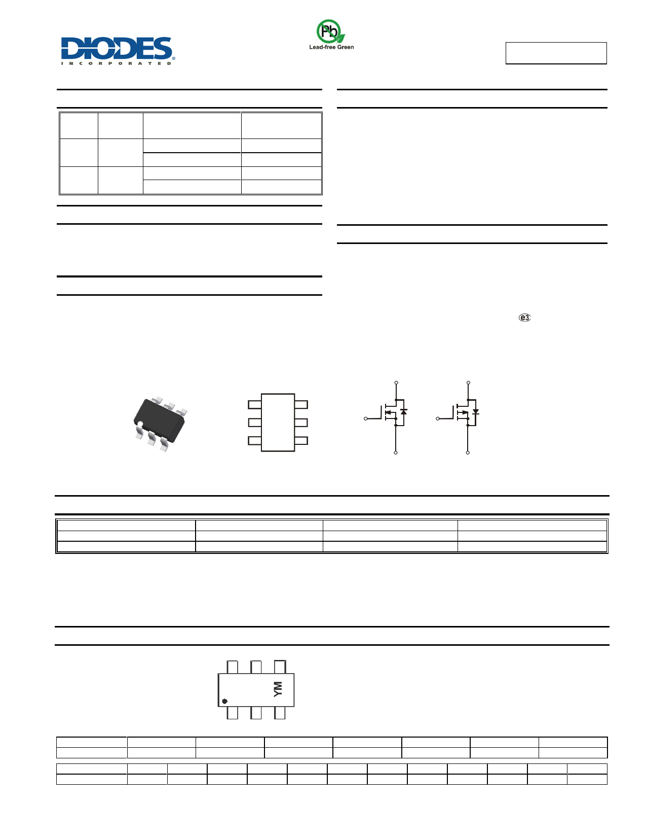 DMC2038LVT datasheet