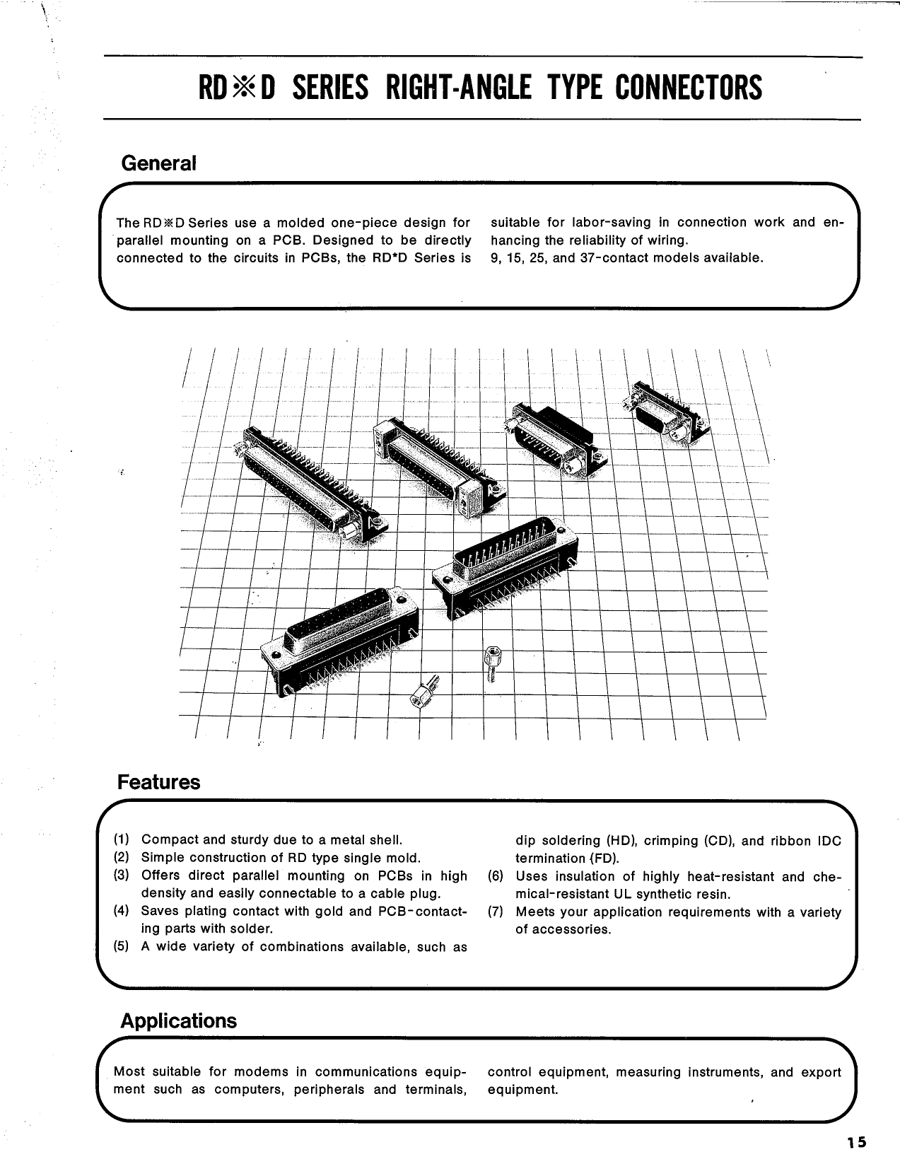 RDED-15PLN دیتاشیت PDF