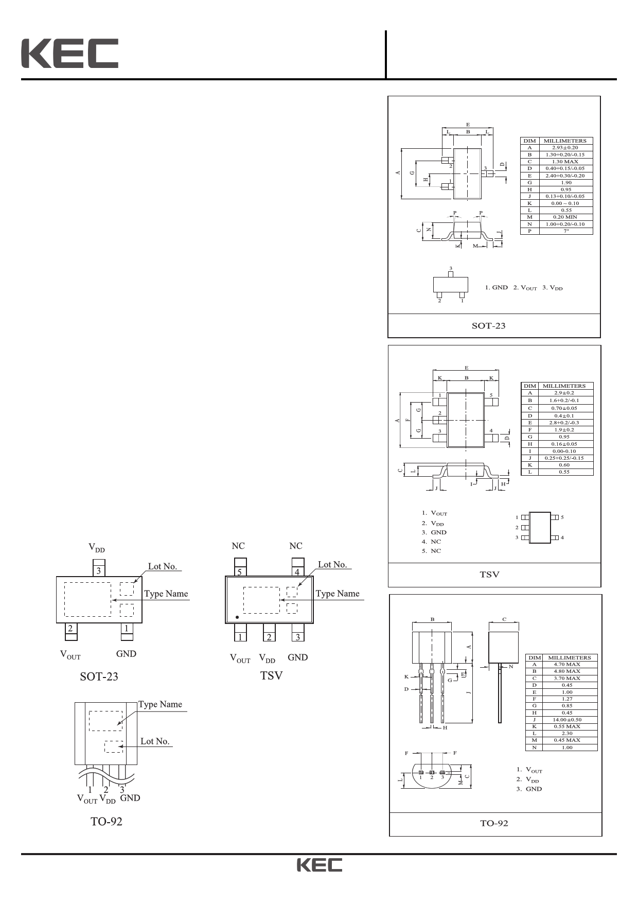 KIC7116 Datasheet, KIC7116 PDF,ピン配置, 機能