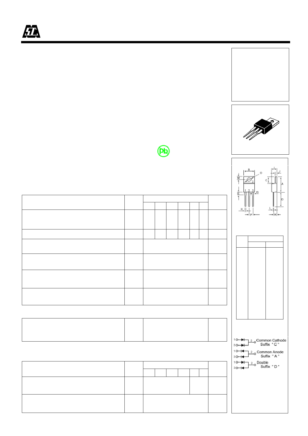 S20C45 datasheet pinout