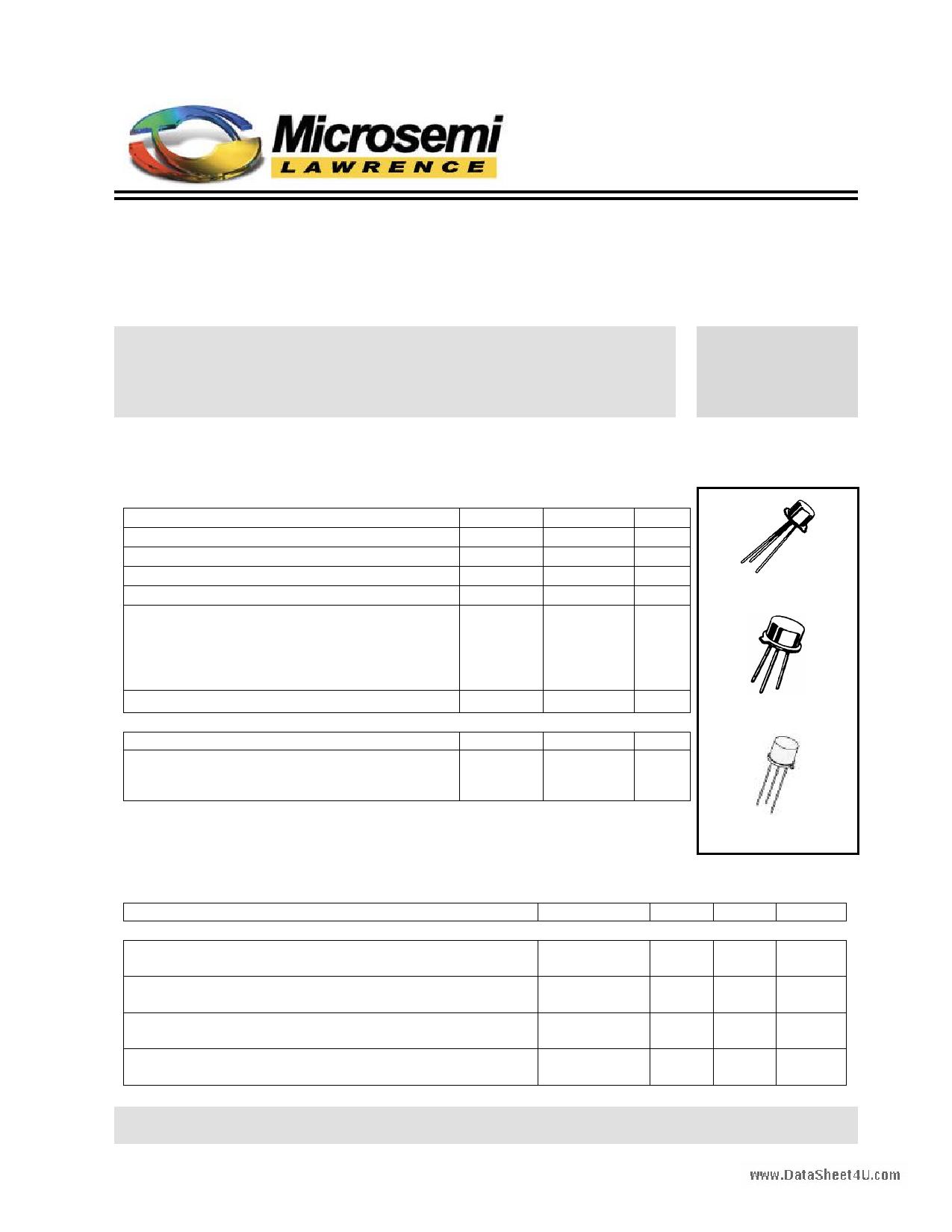 2N1613L دیتاشیت PDF