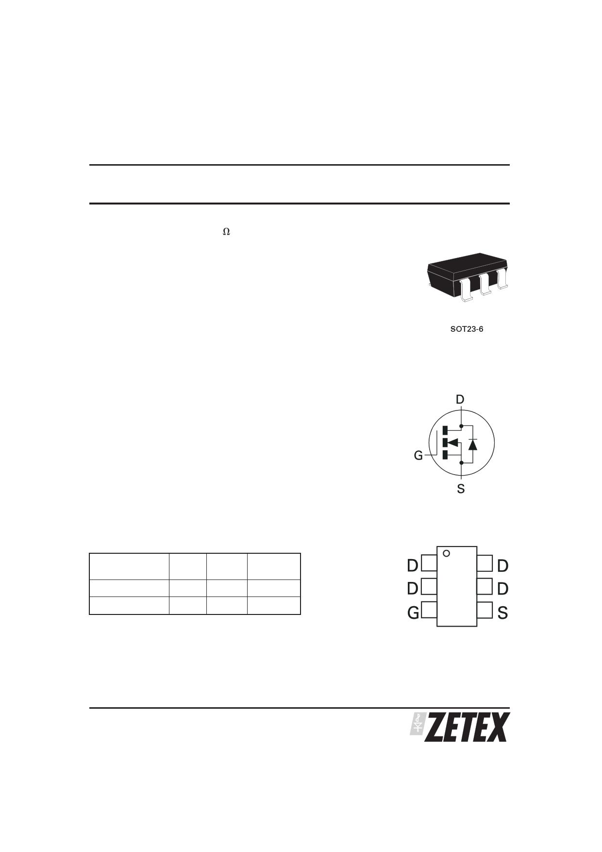 ZXMN10A08E6 دیتاشیت PDF