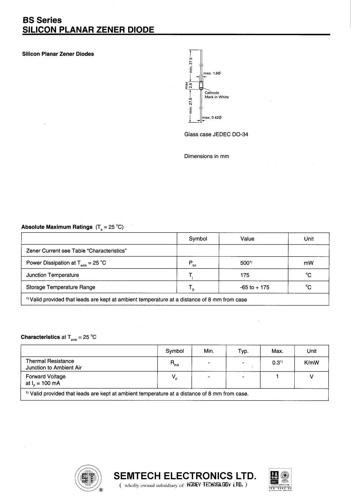 7.5BS datasheet