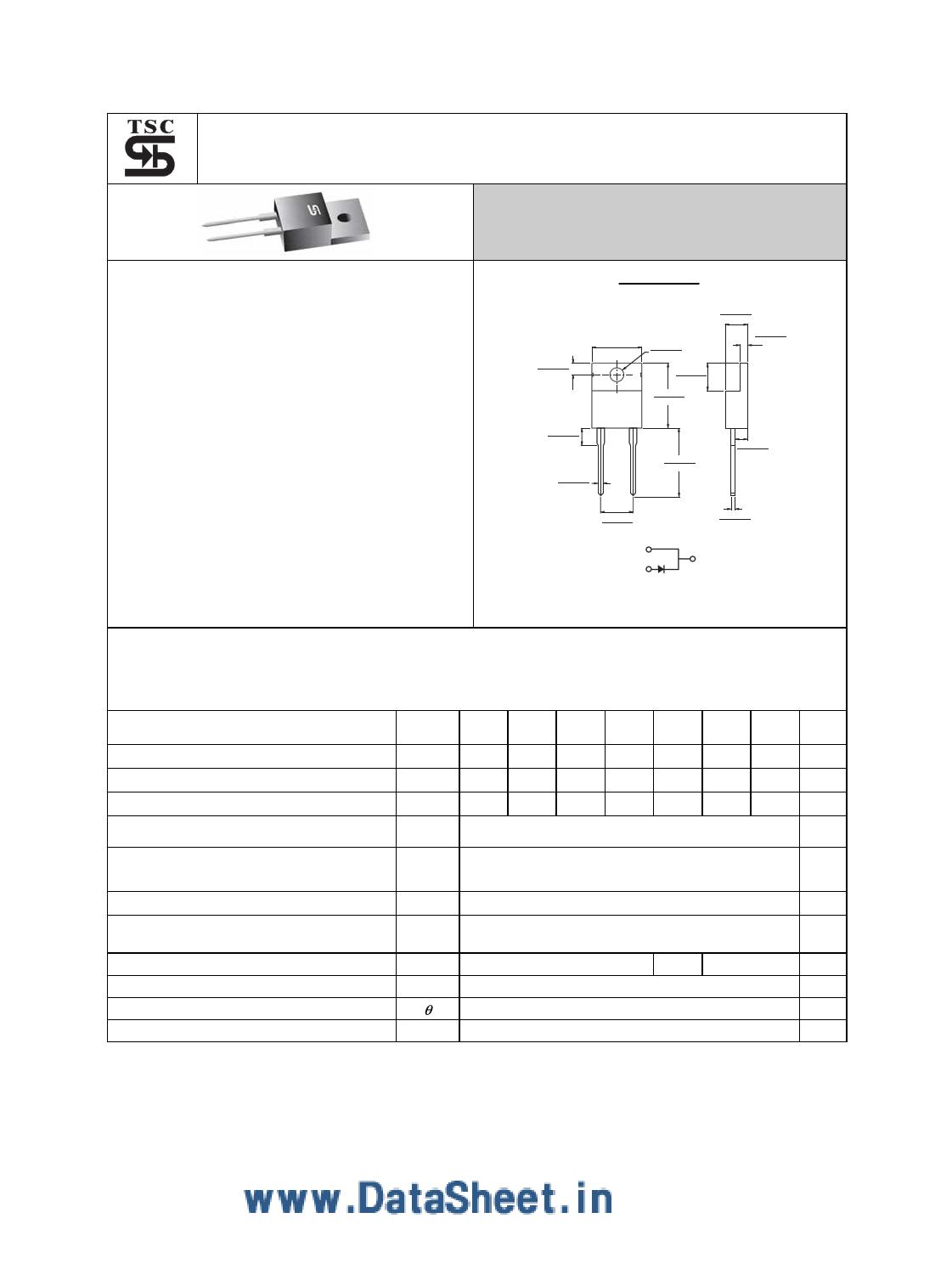 FRA1005G datasheet