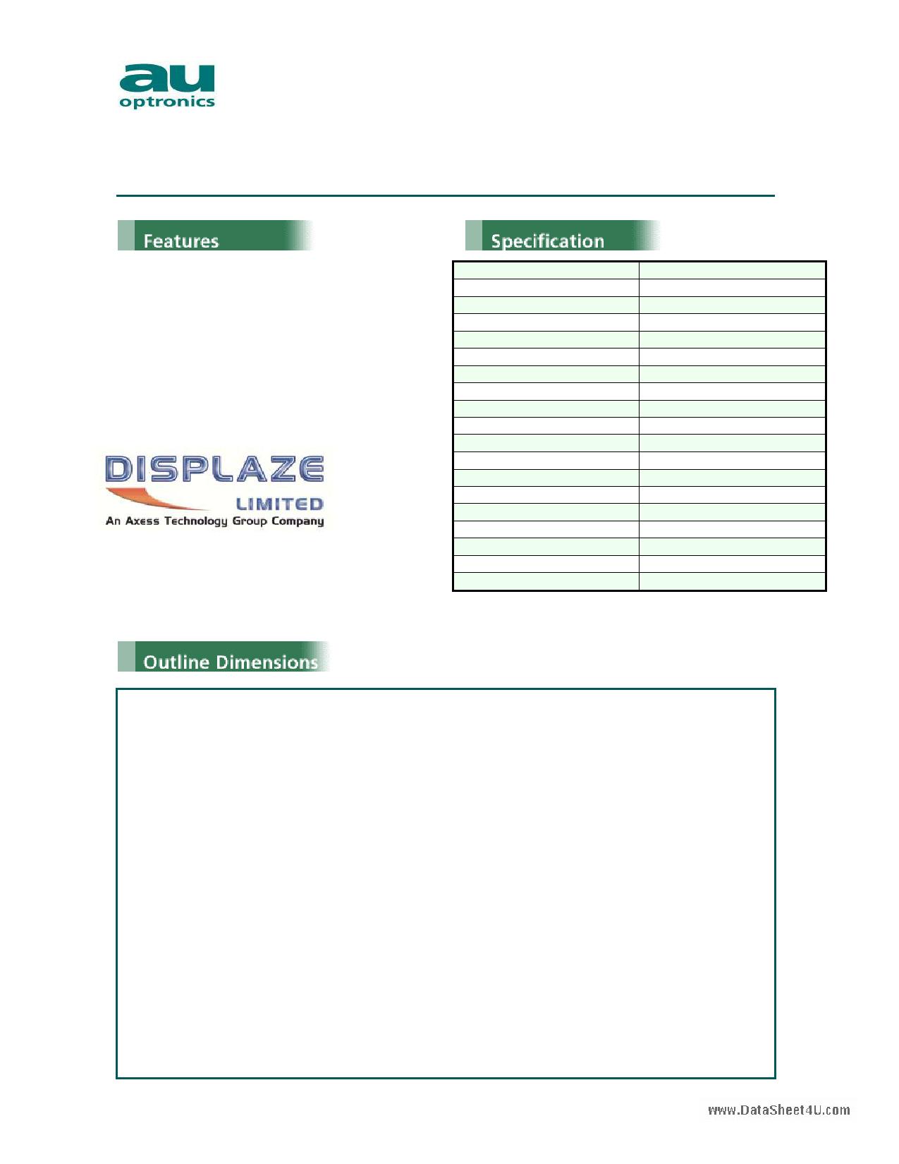 H020HN01 Datasheet, H020HN01 PDF,ピン配置, 機能