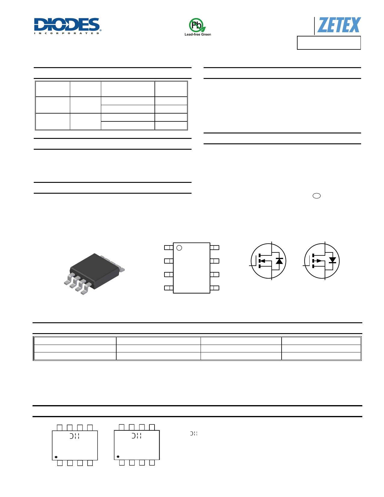 DMC4028SSD datasheet