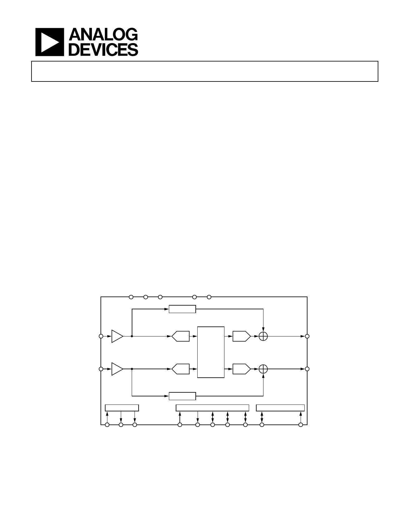 SSM2604 datasheet