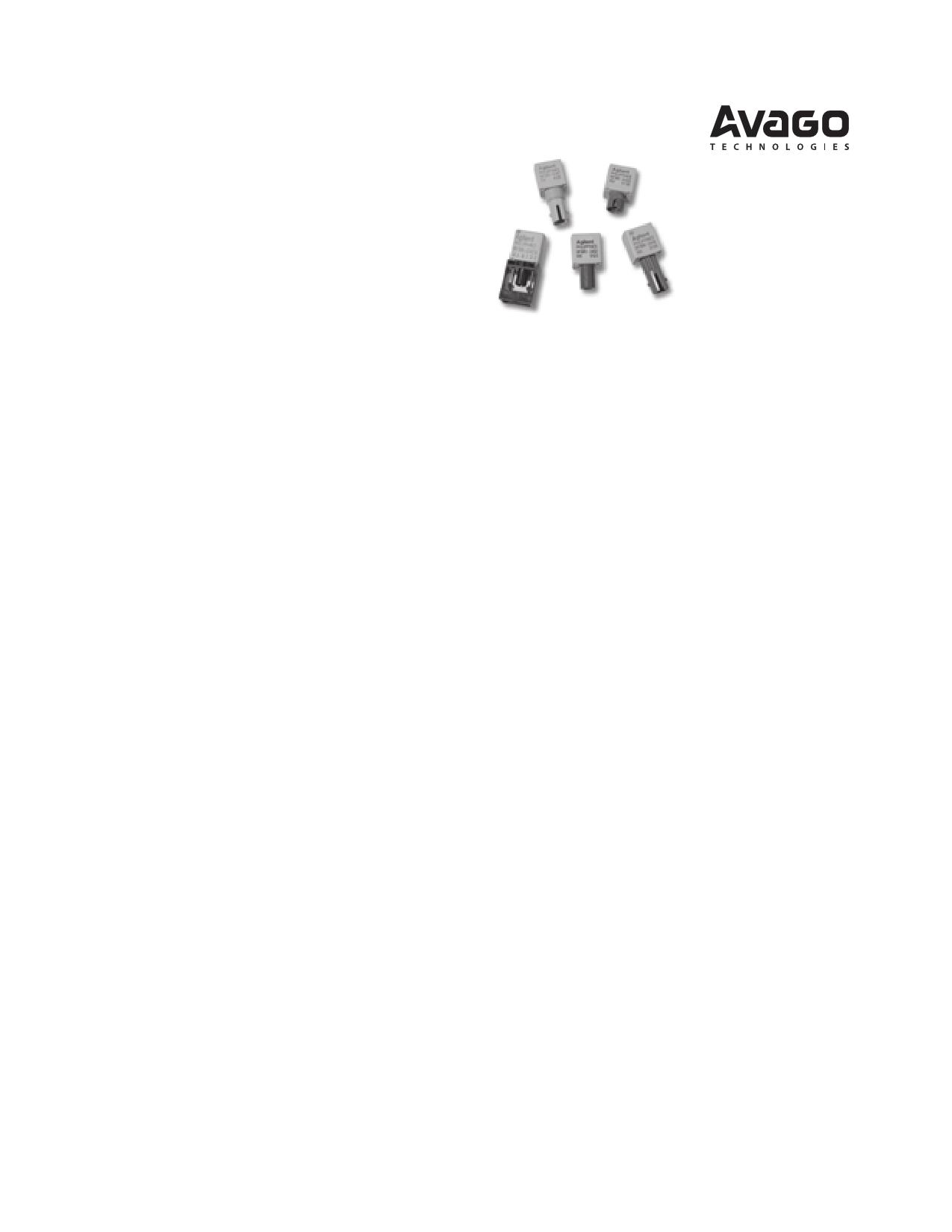HFBR-1412 دیتاشیت PDF