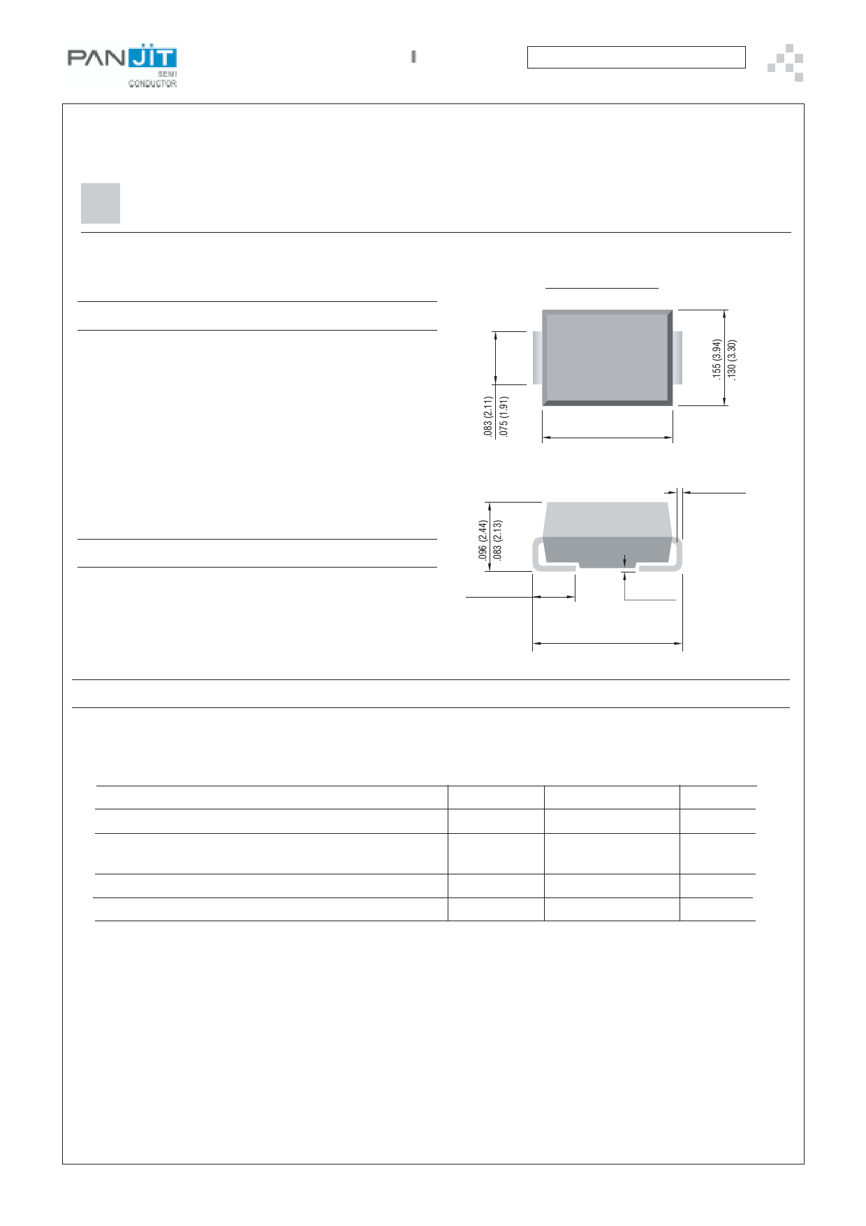 P6SMBJ54CA دیتاشیت PDF