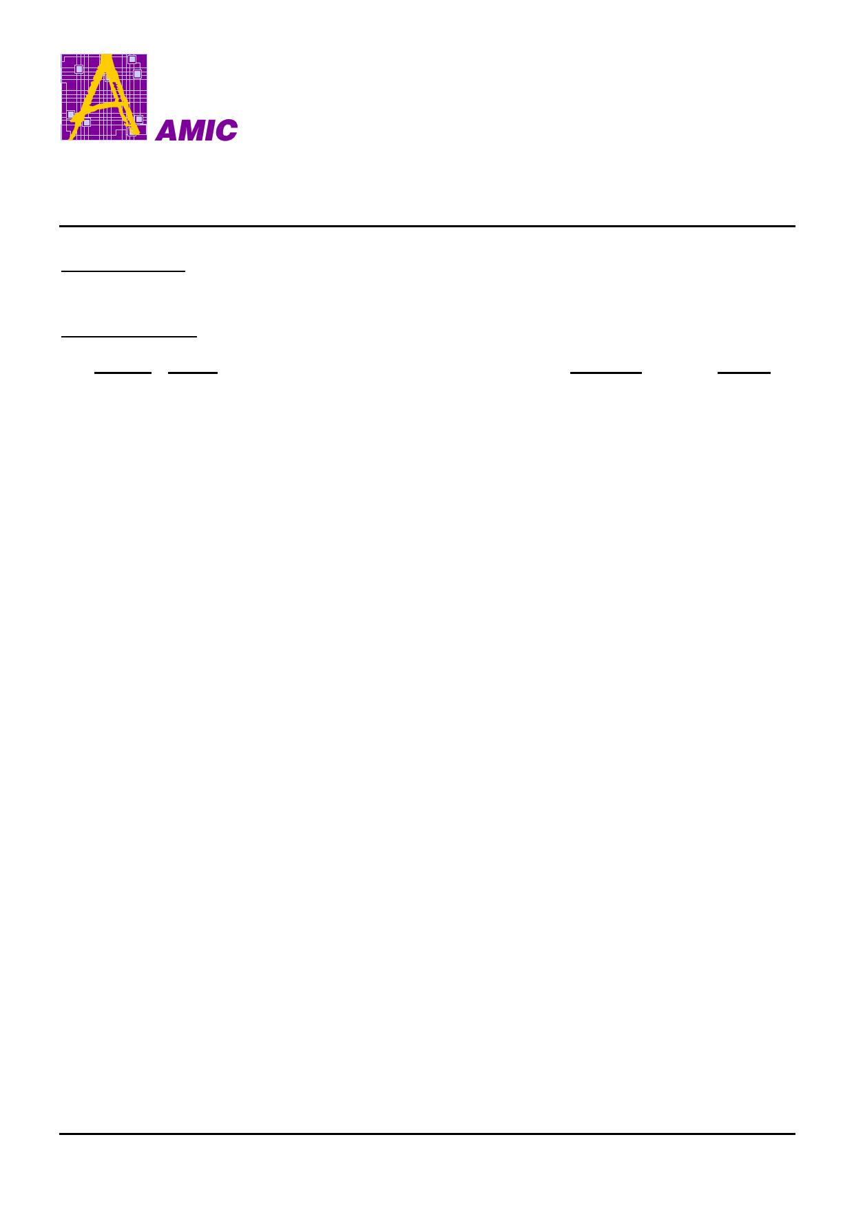 A25L16P datasheet, circuit