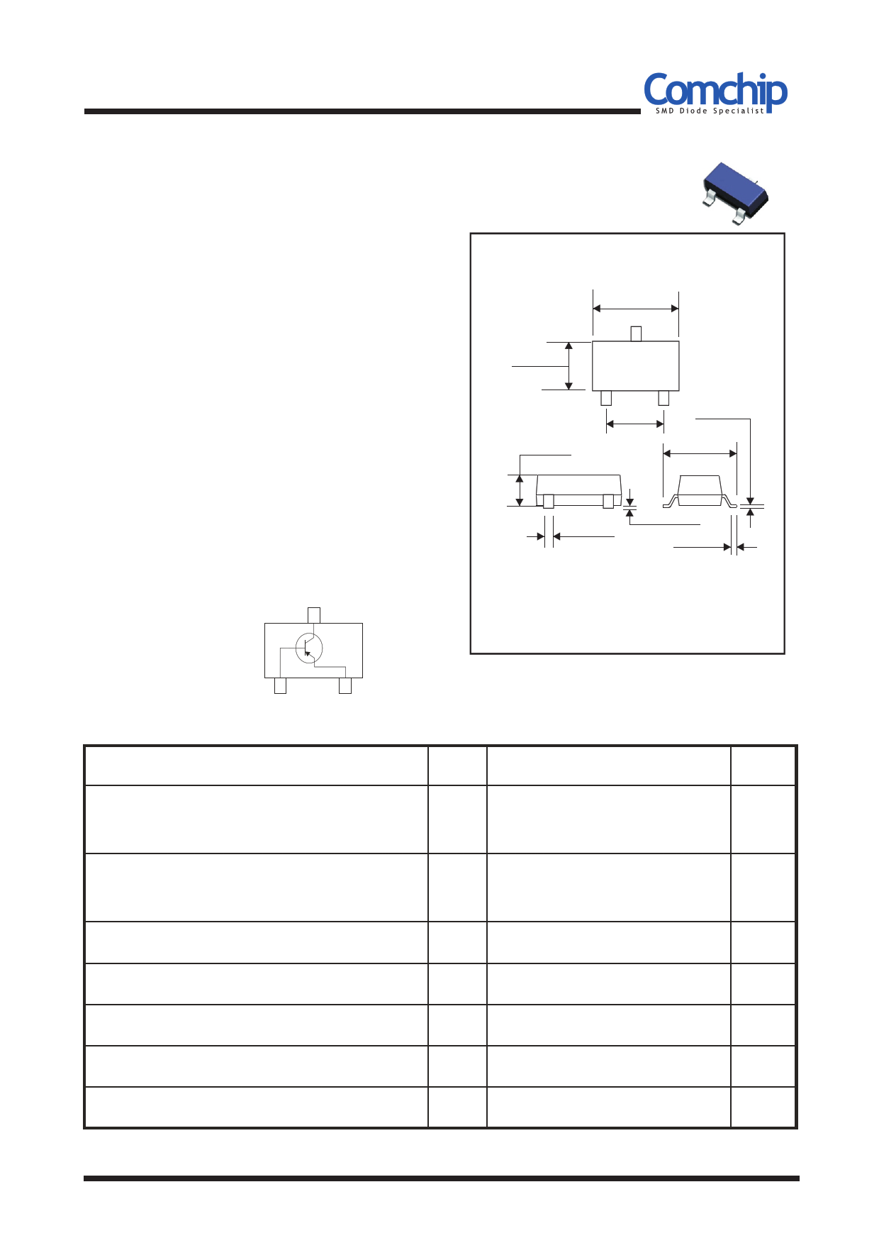 BC856AW-G دیتاشیت PDF