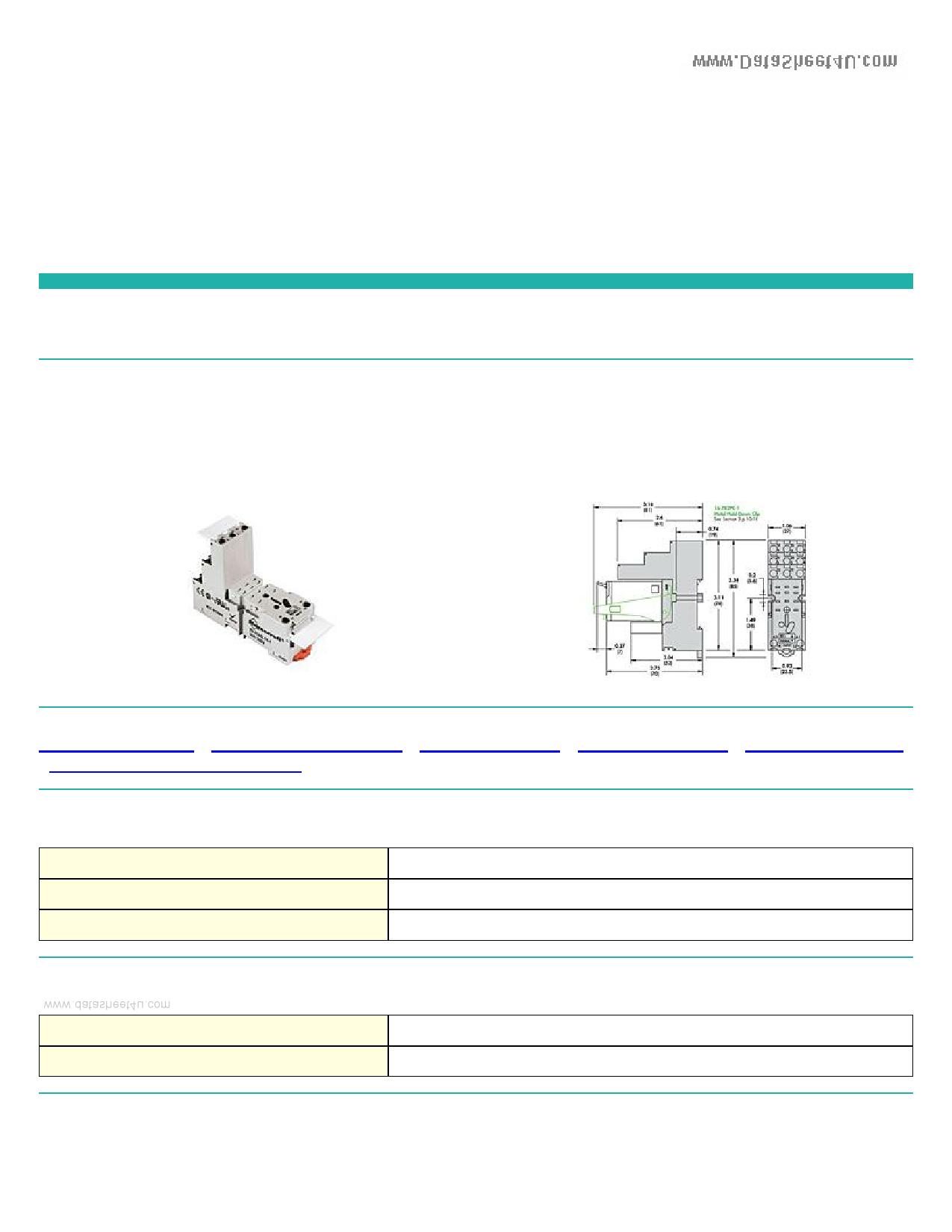 70-782EL11-1 Hoja de datos, Descripción, Manual