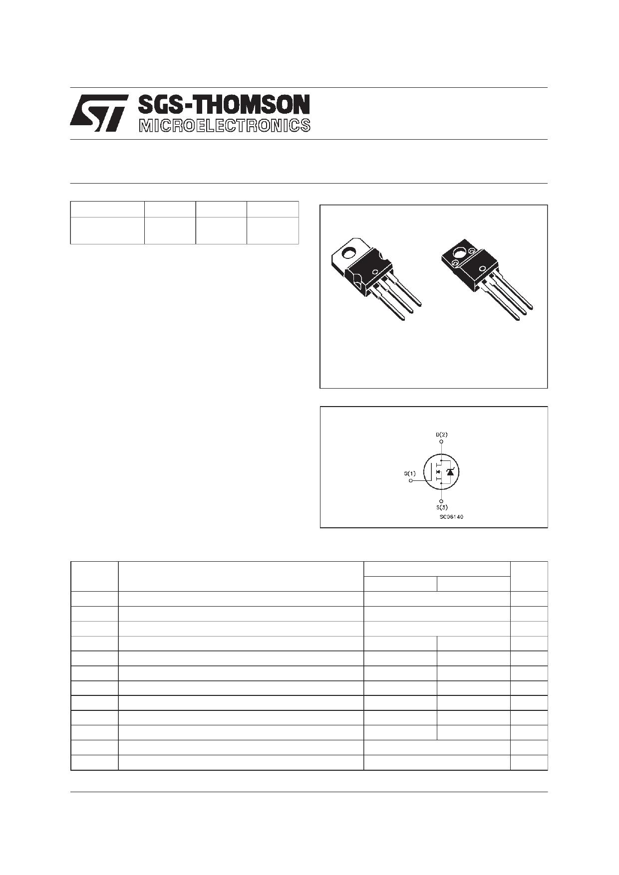 P12NB30FP datasheet, circuit