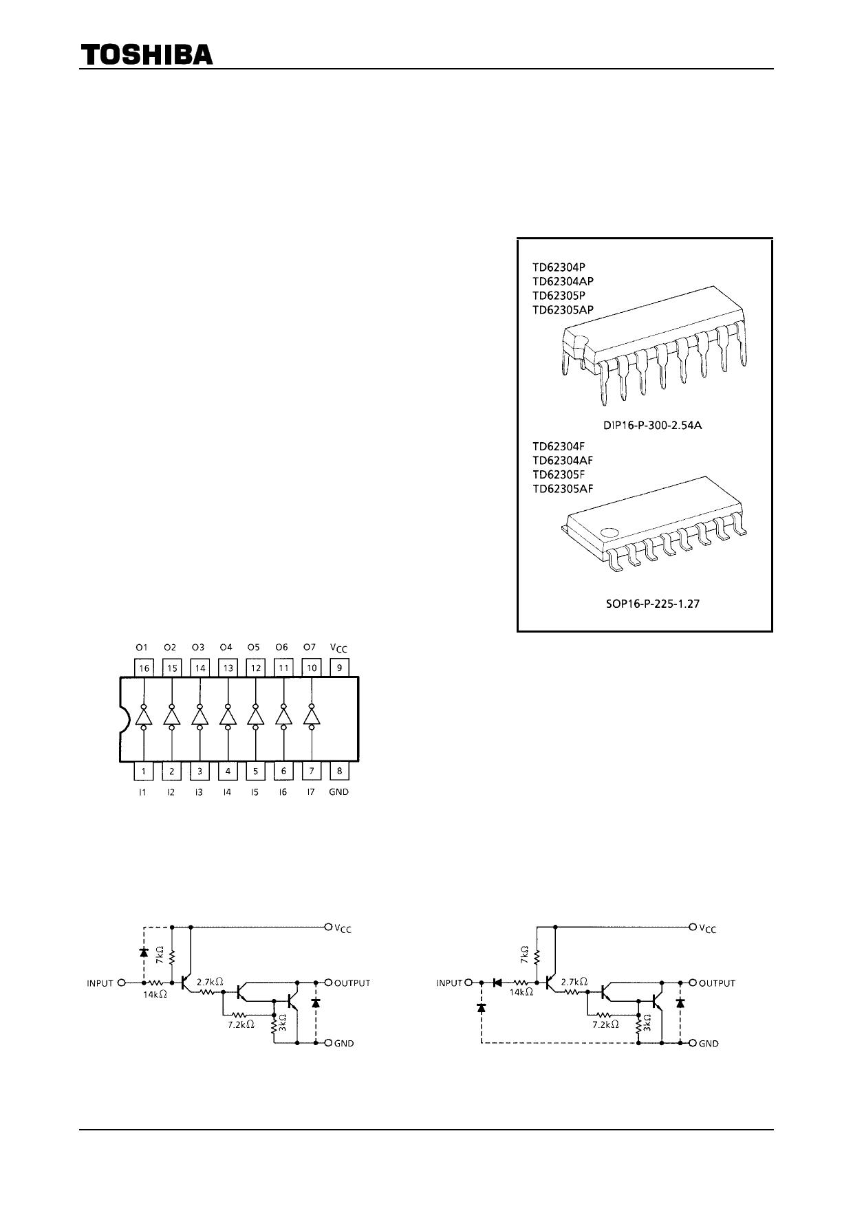 TD62305P دیتاشیت PDF