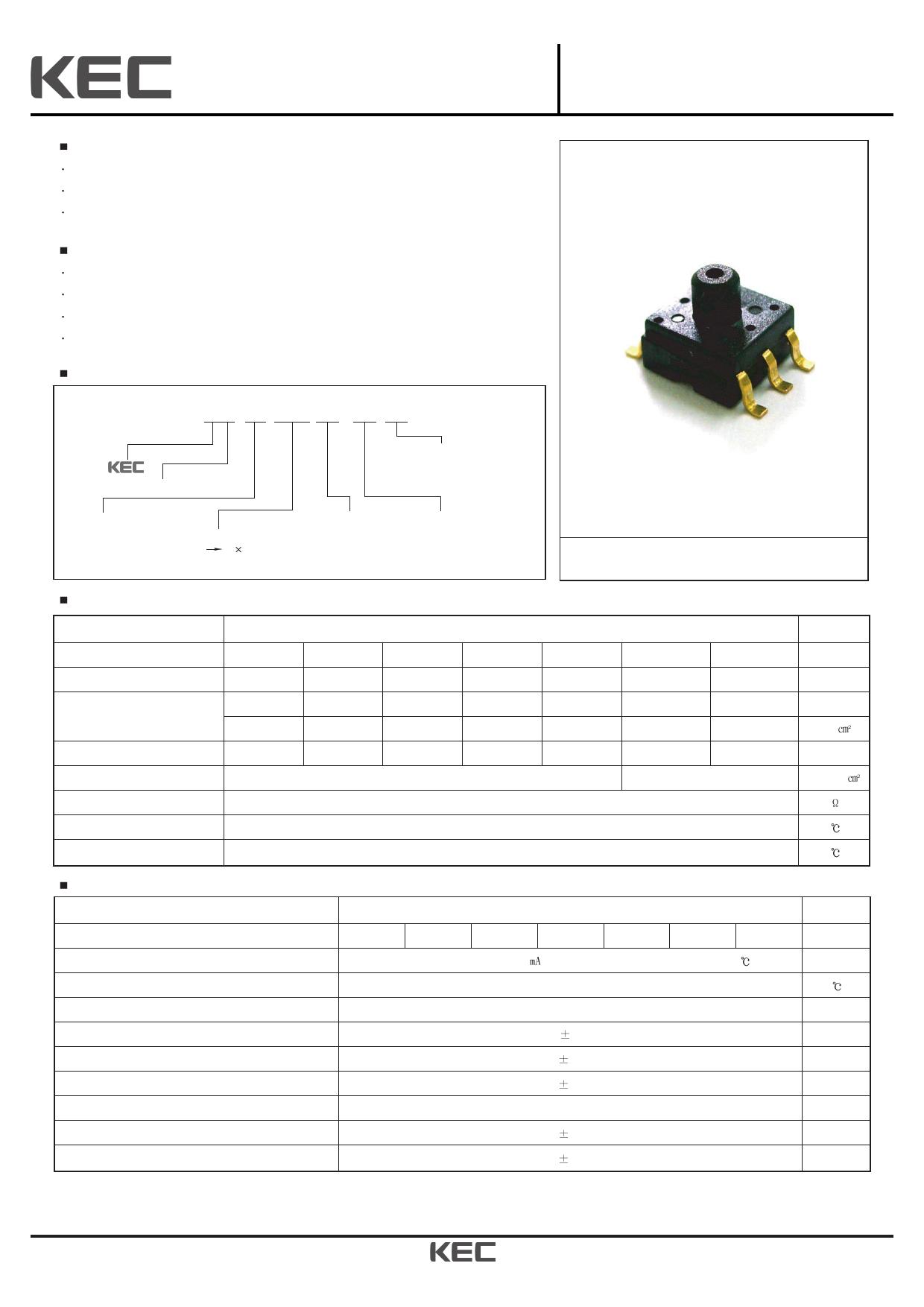 KPF801G03 데이터시트 및 KPF801G03 PDF