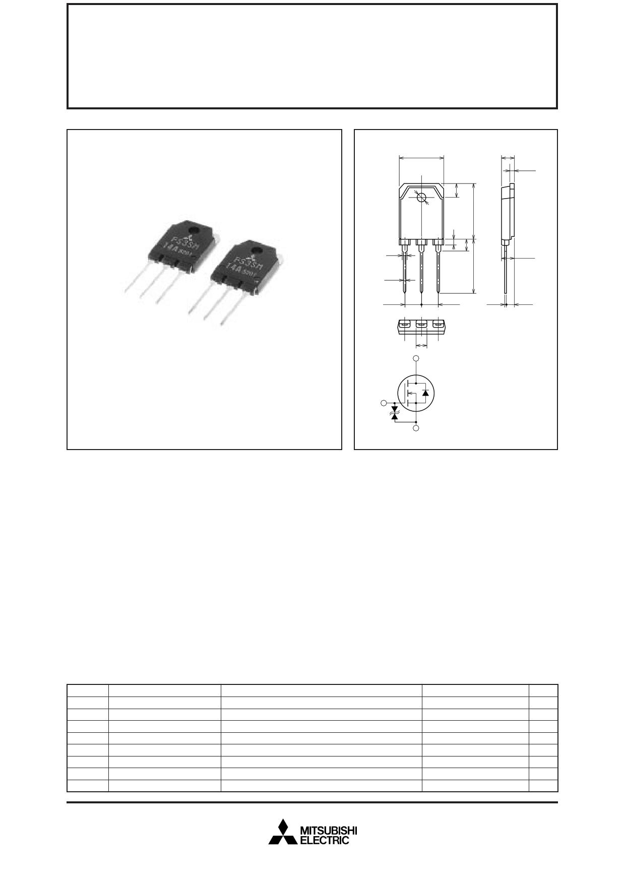FS3SM-14A دیتاشیت PDF