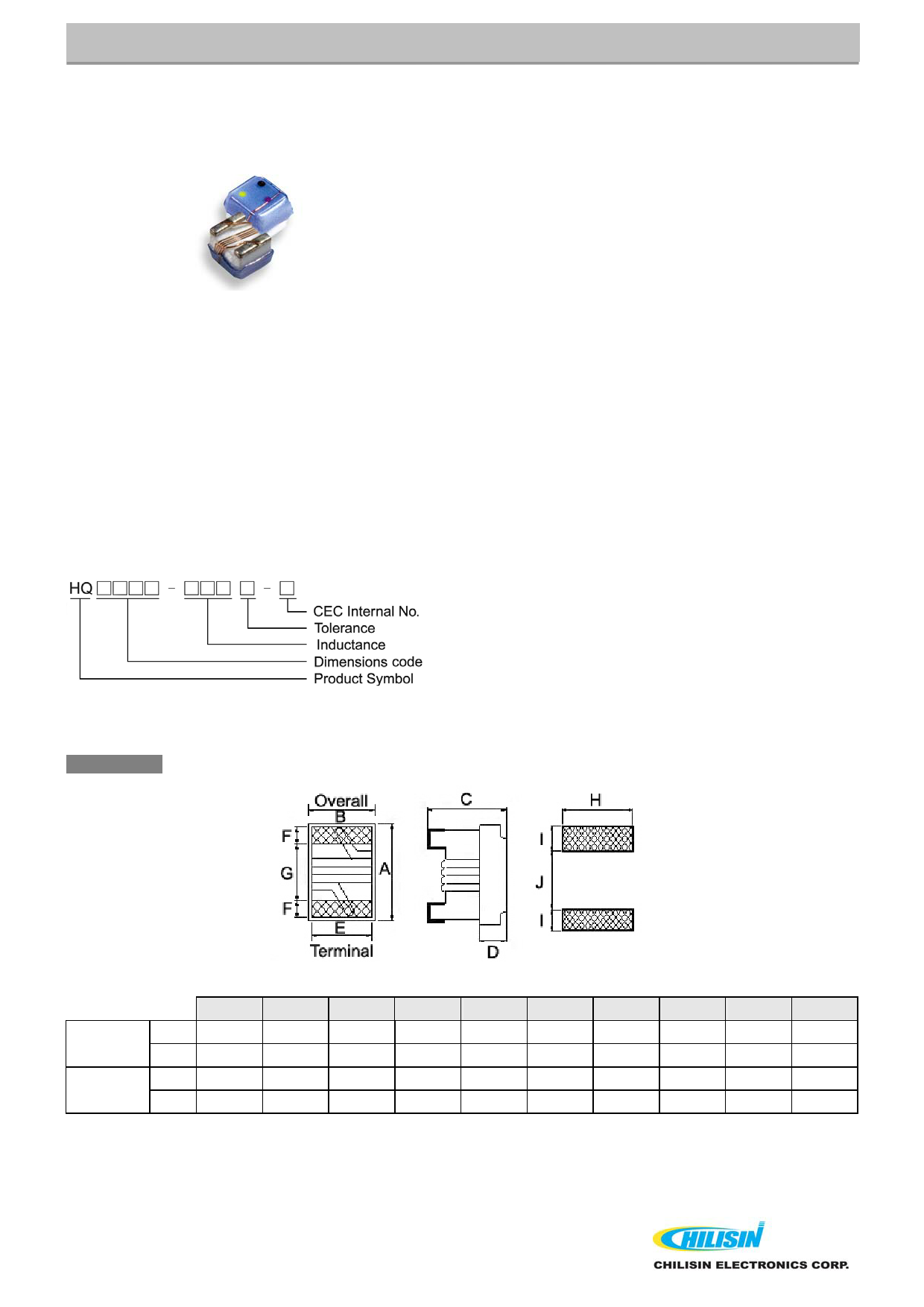 HQ1008 데이터시트 및 HQ1008 PDF